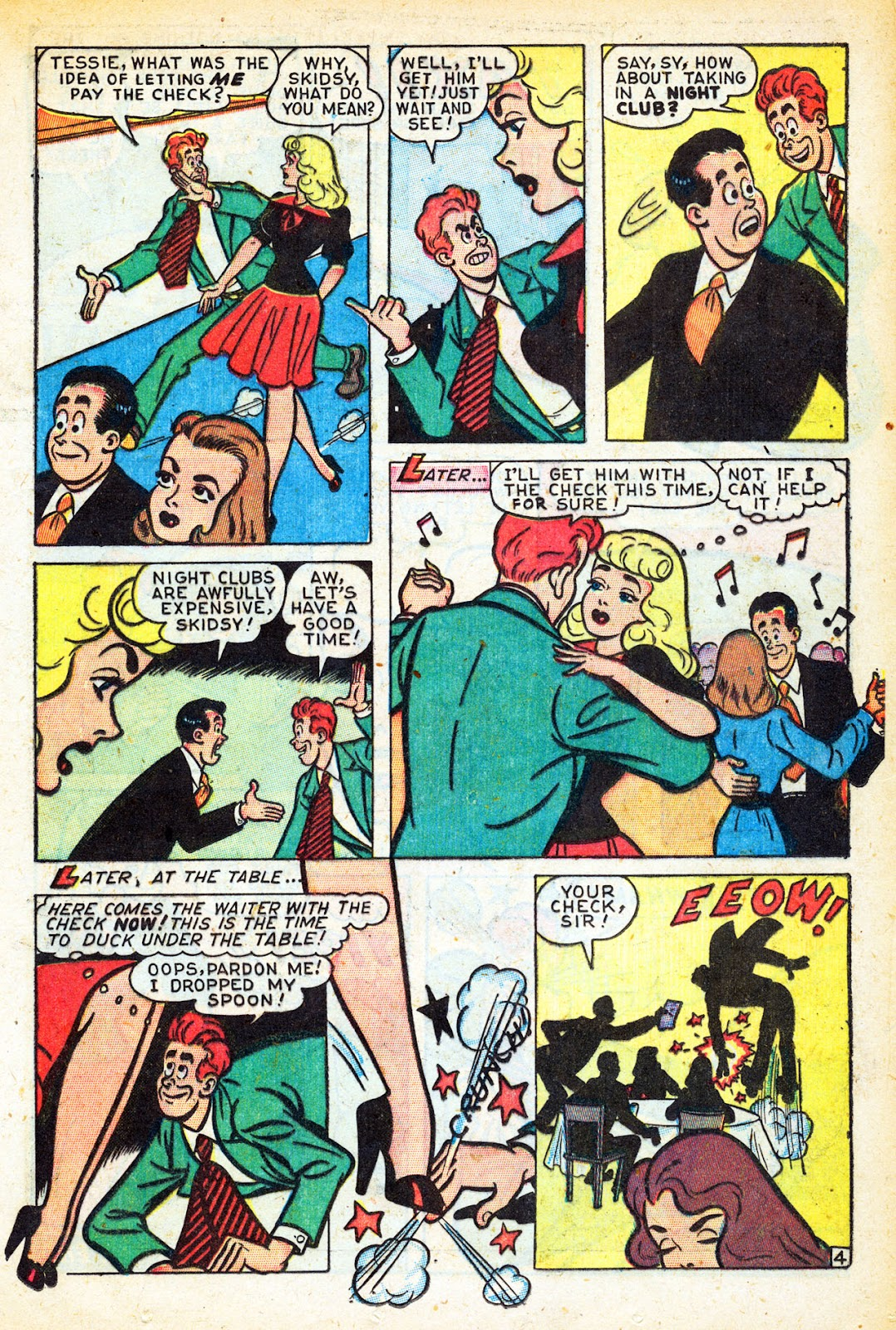 Read online Nellie The Nurse (1945) comic -  Issue #12 - 23