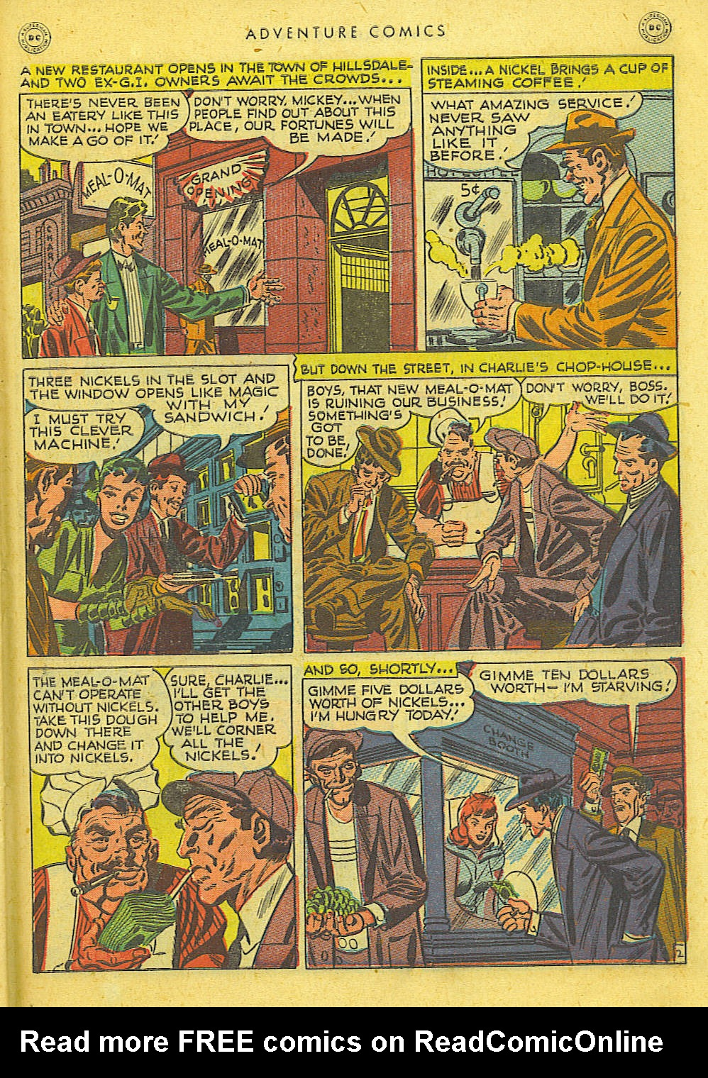 Read online Adventure Comics (1938) comic -  Issue #127 - 36