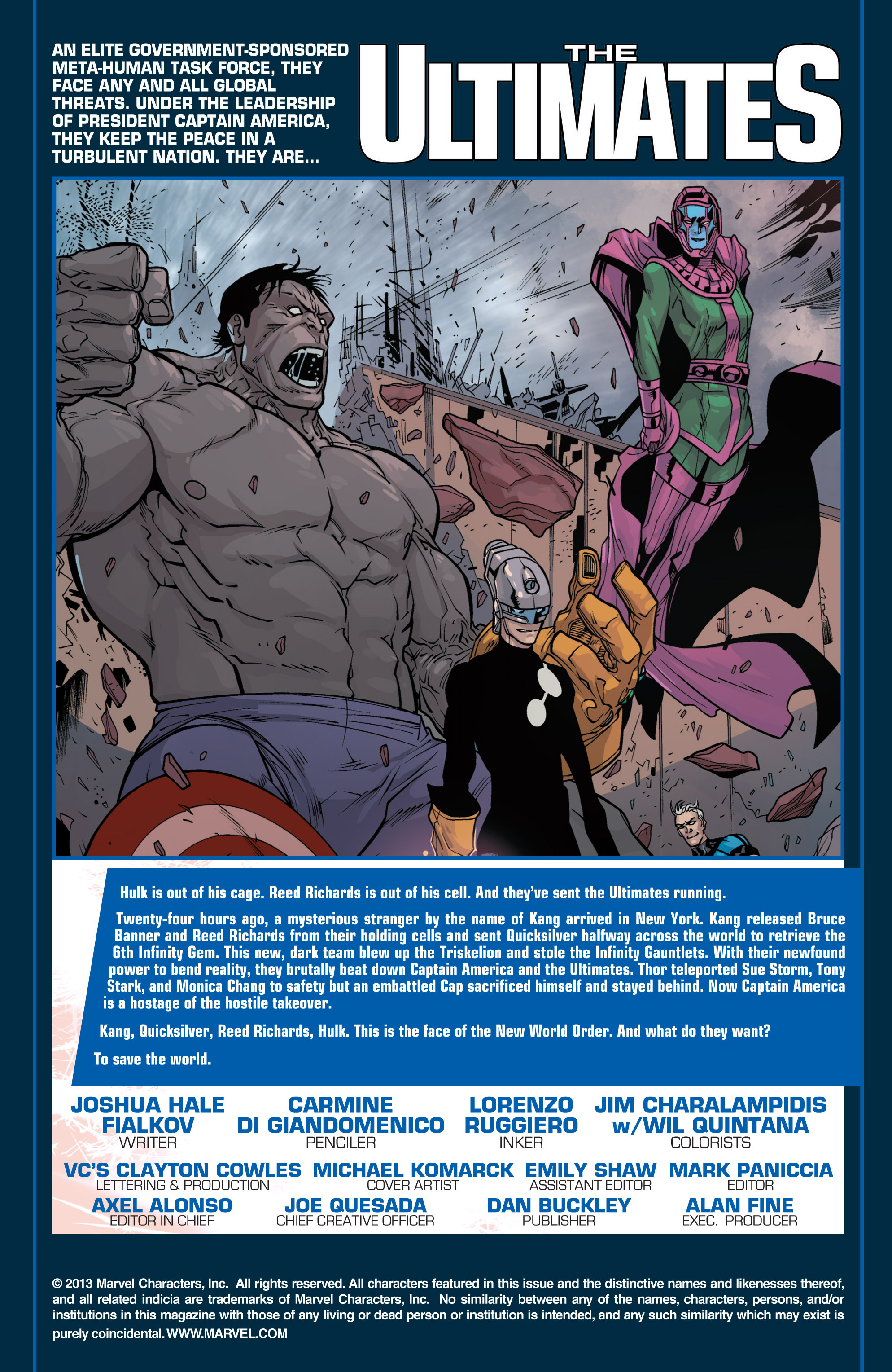 Read online Ultimate Comics Ultimates comic -  Issue #26 - 2