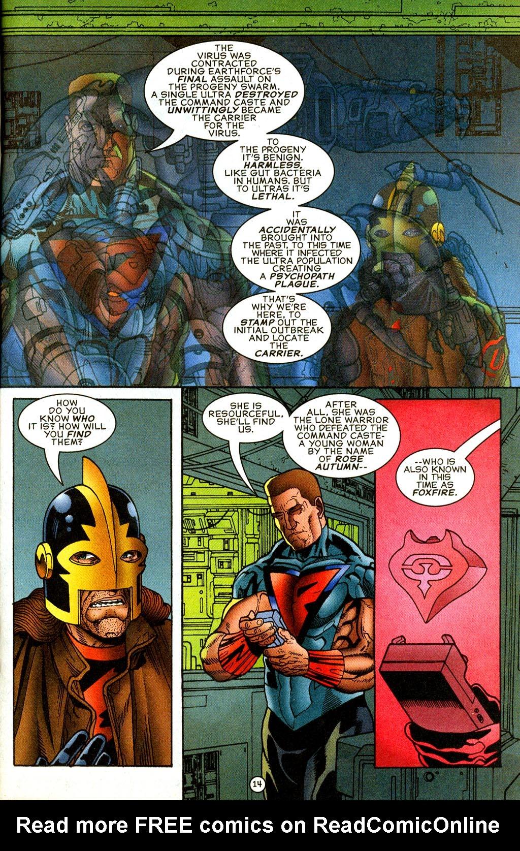 Read online UltraForce (1995) comic -  Issue #9 - 14