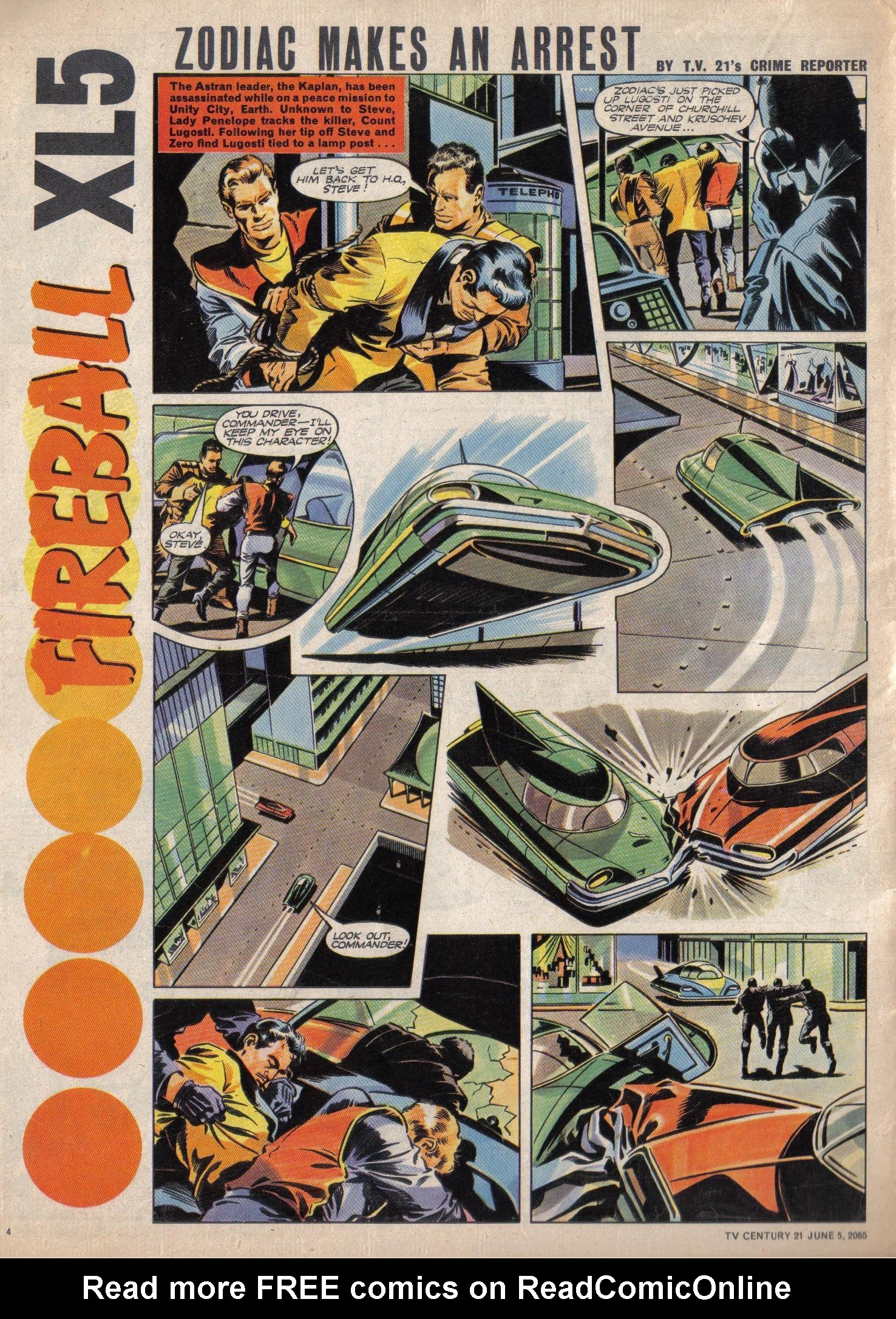 Read online TV Century 21 (TV 21) comic -  Issue #20 - 4