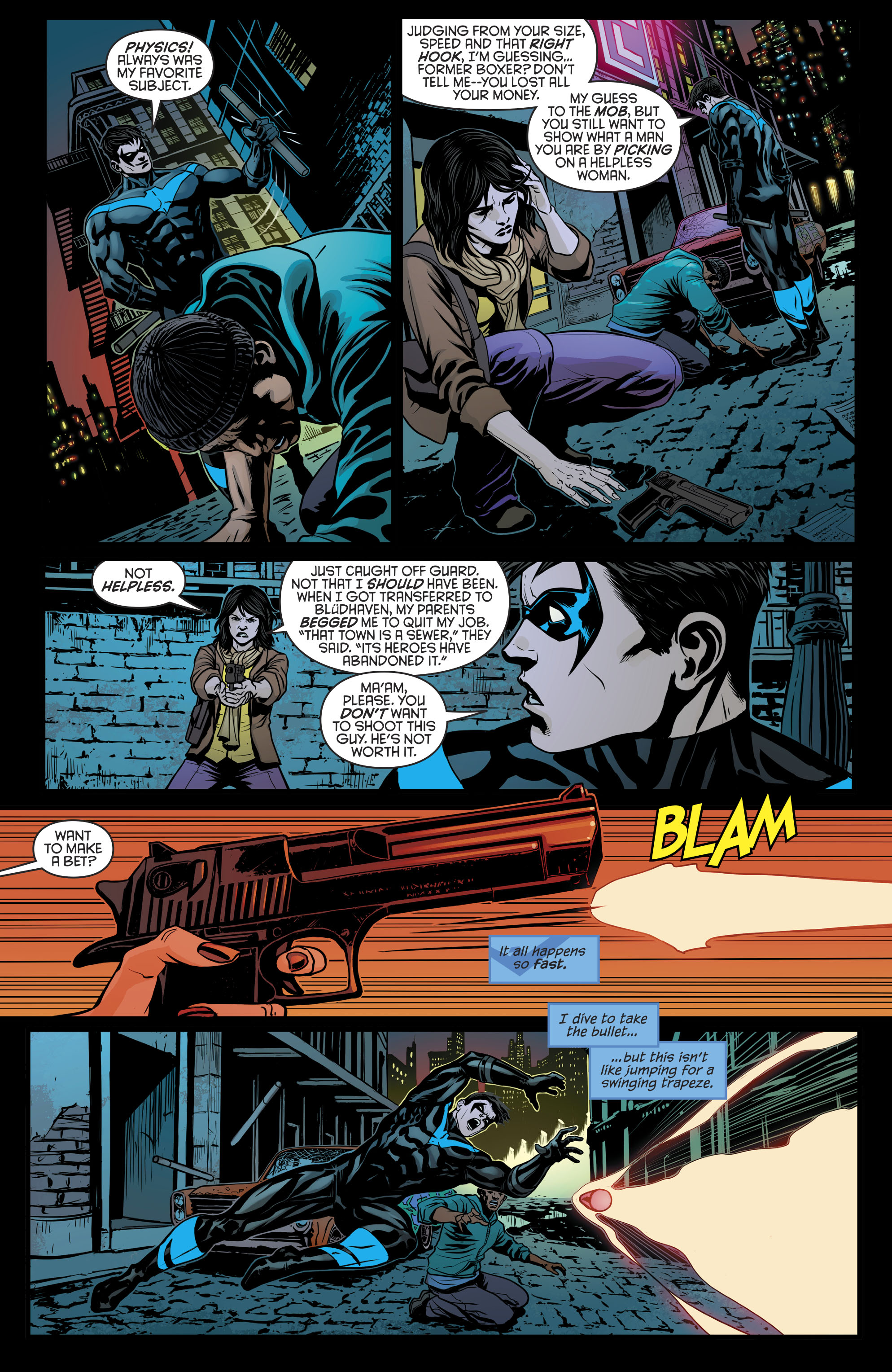 Read online Nightwing (2016) comic -  Issue #21 - 5