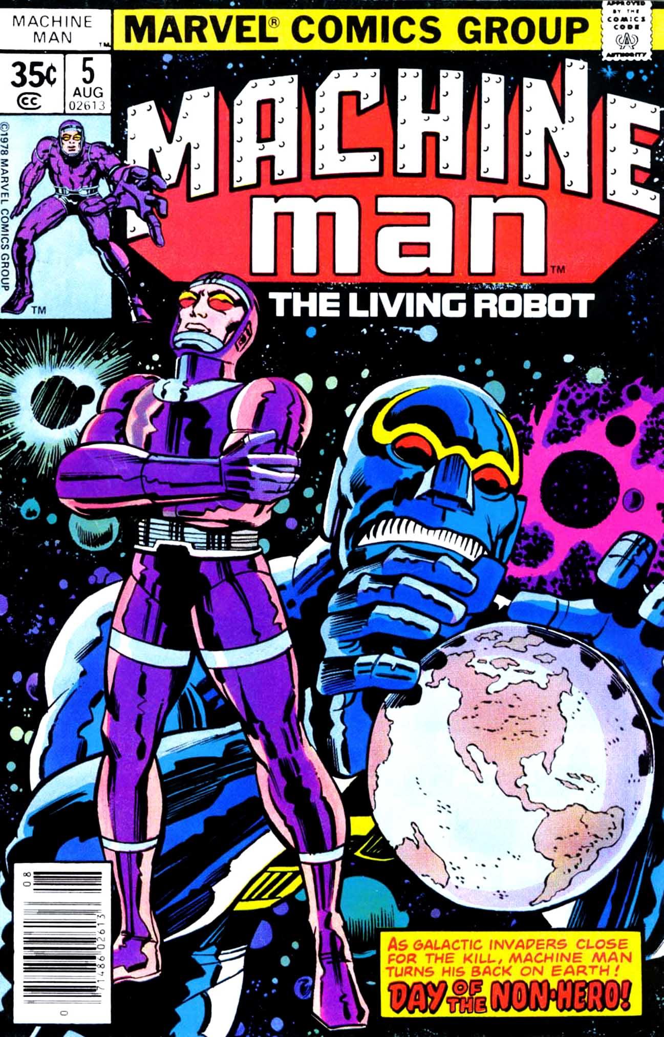 Machine Man (1978) issue 5 - Page 1