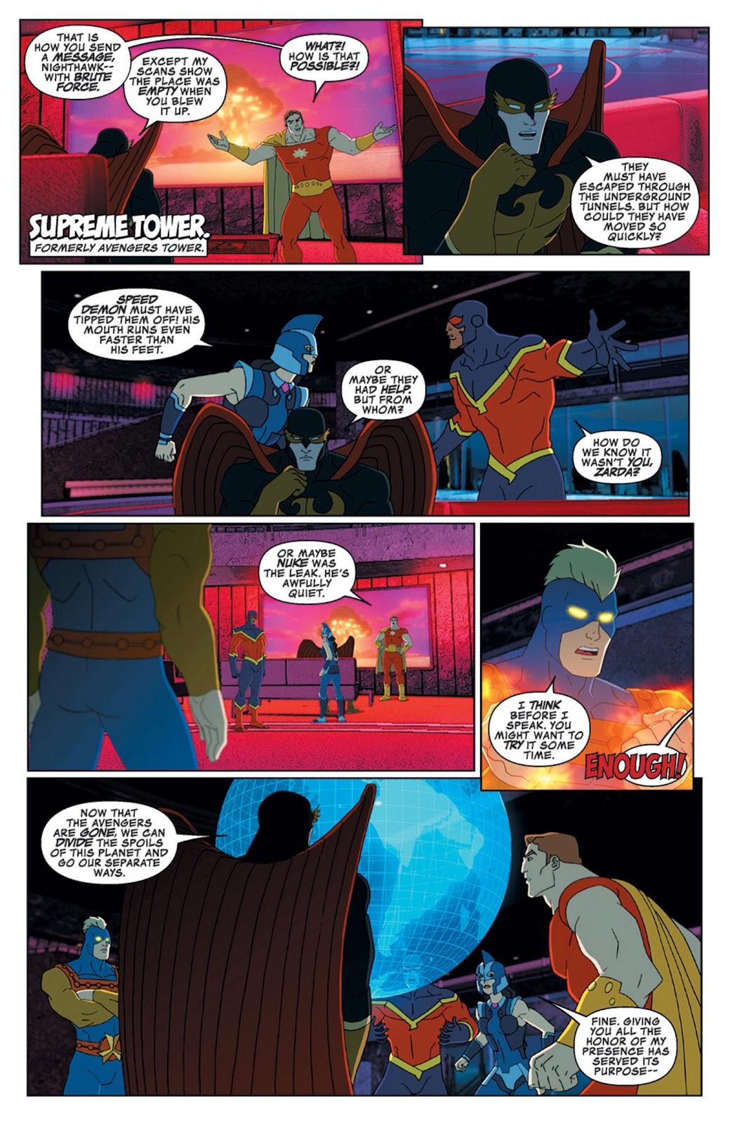 Read online Marvel Universe Avengers Assemble Season 2 comic -  Issue #14 - 6