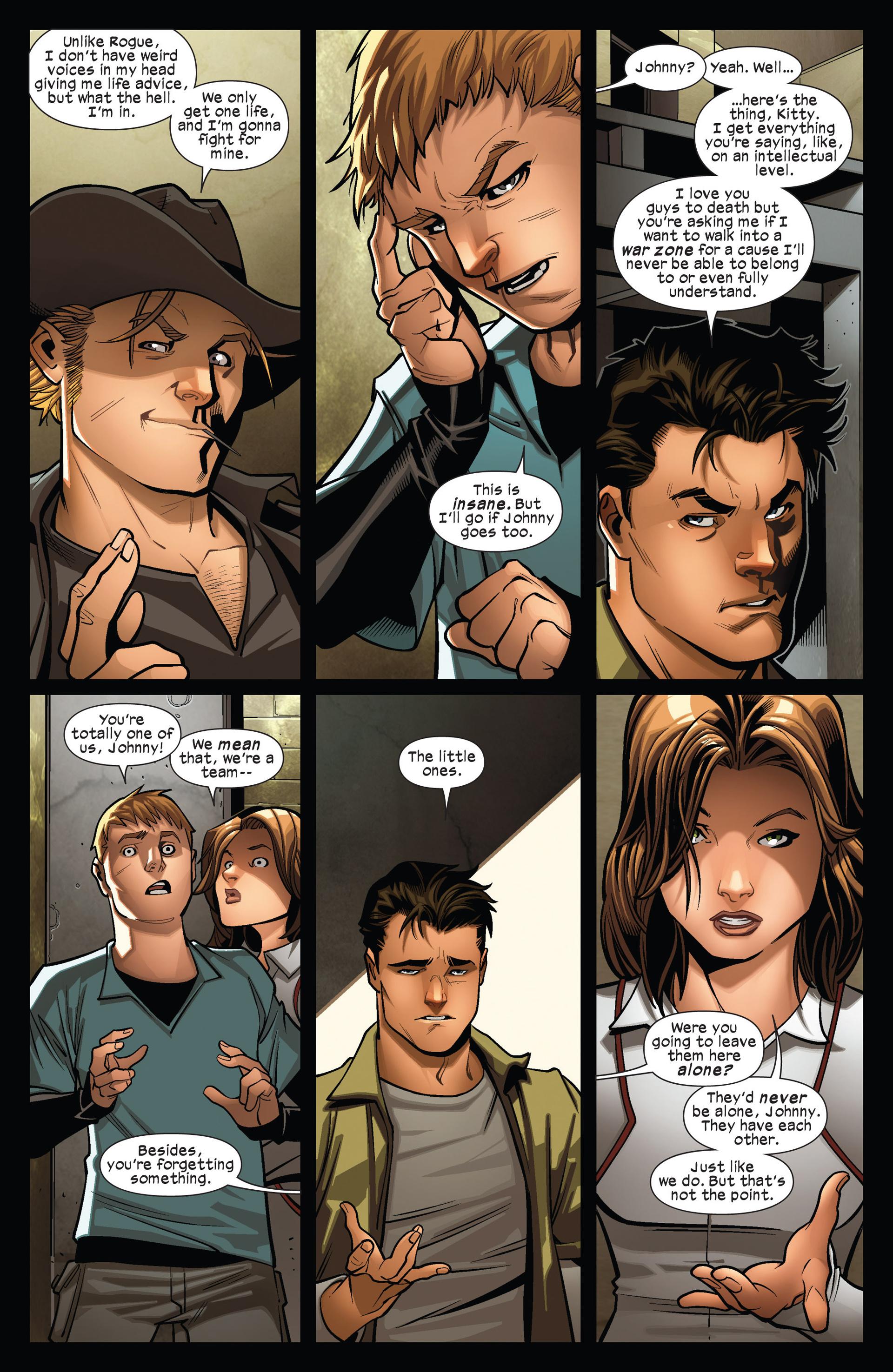 Read online Ultimate Comics X-Men comic -  Issue #13 - 16