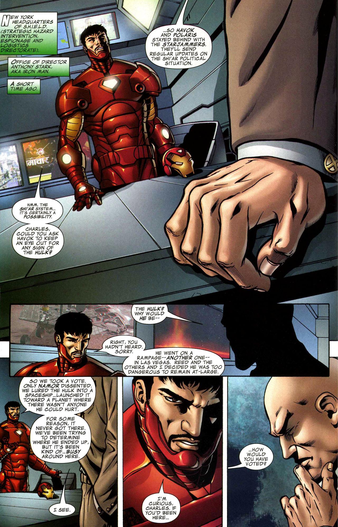 Read online World War Hulk: X-Men comic -  Issue #1 - 3
