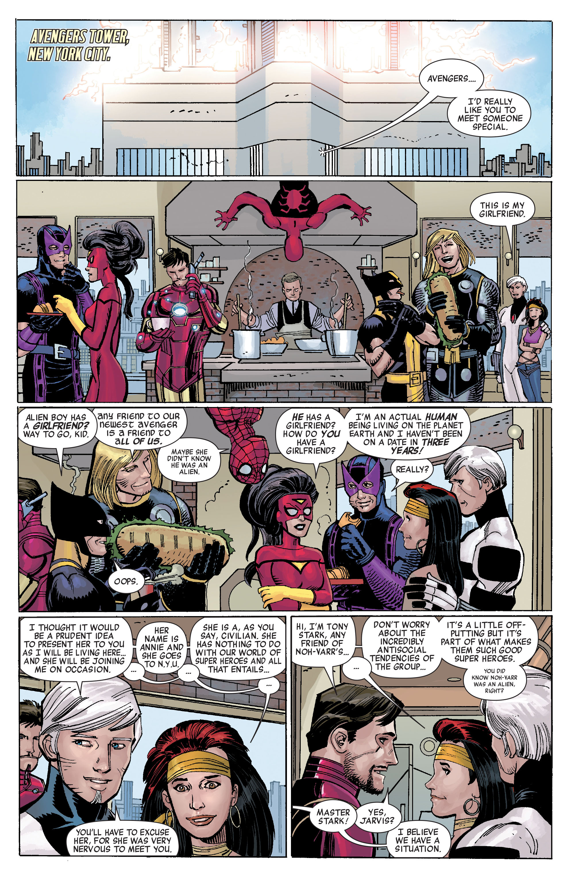 Read online Avengers (2010) comic -  Issue #7 - 22