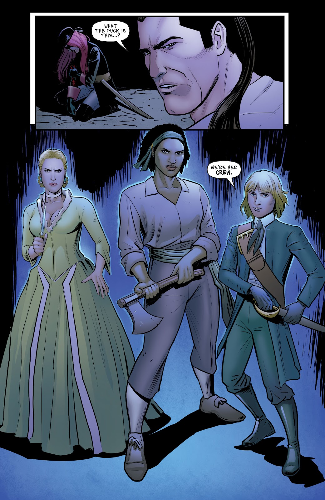 A Man Among Ye issue 4 - Page 18
