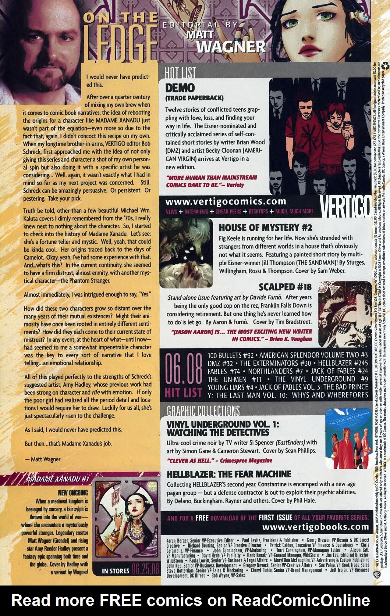 Read online The Exterminators comic -  Issue #30 - 25