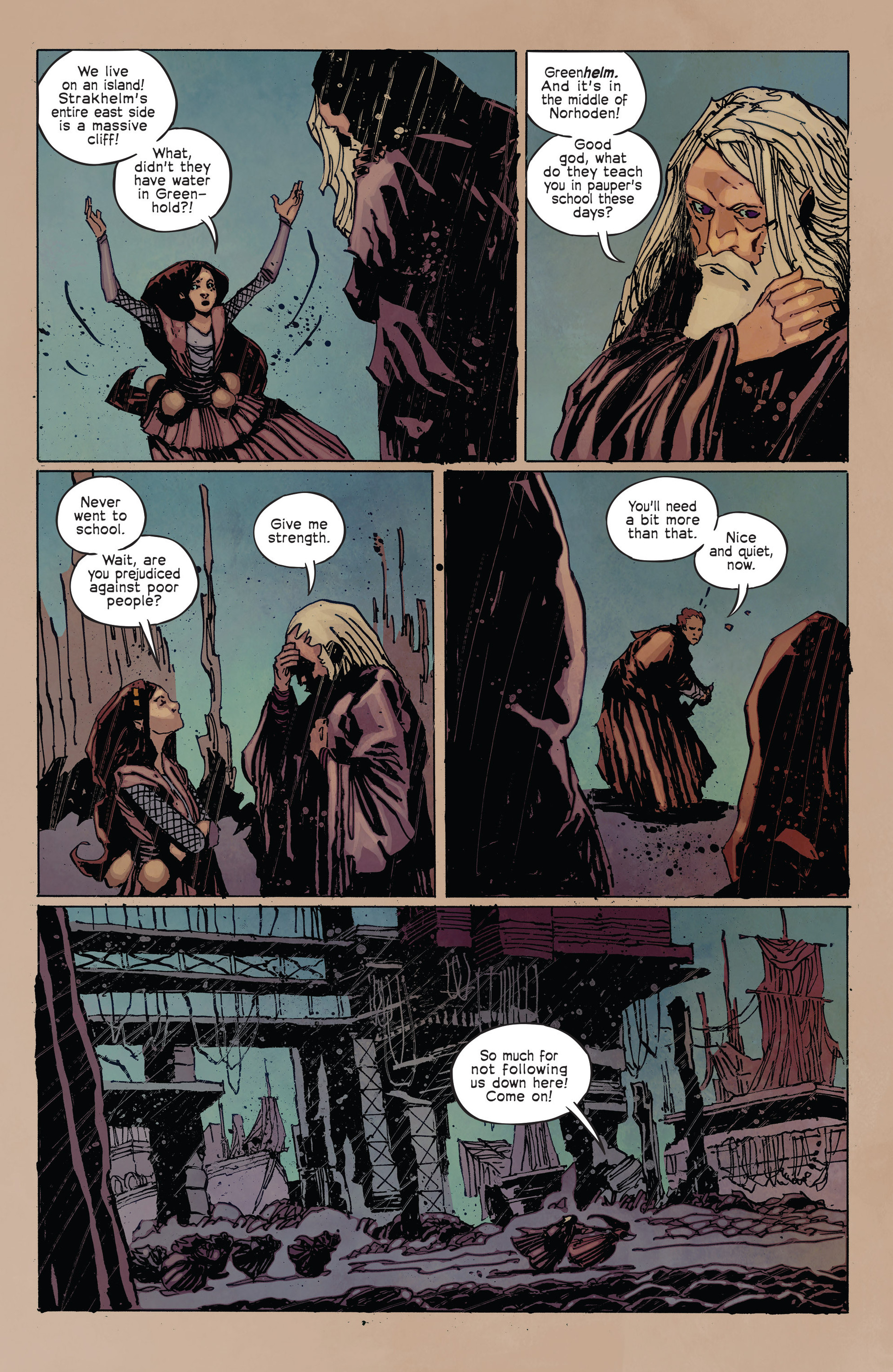 Read online Umbral comic -  Issue #2 - 21