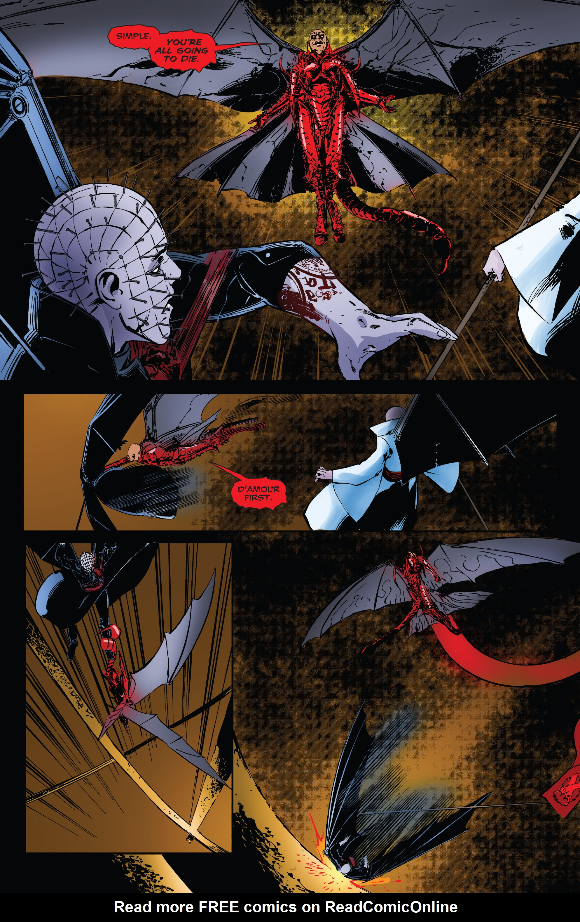 Read online Clive Barker's Hellraiser: The Dark Watch comic -  Issue # TPB 3 - 73
