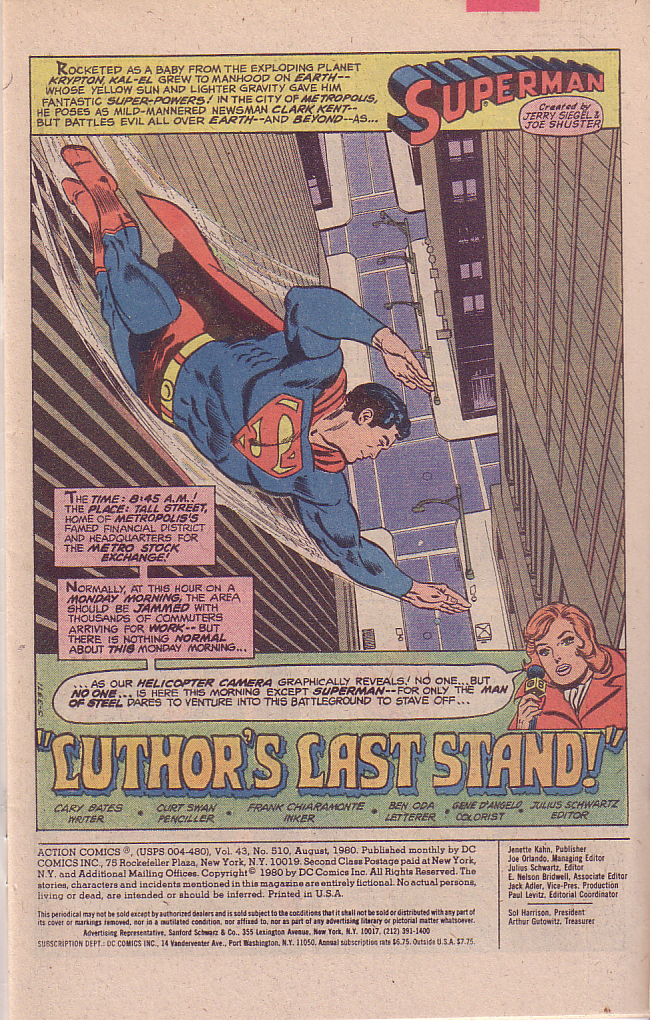 Read online Action Comics (1938) comic -  Issue #510 - 2