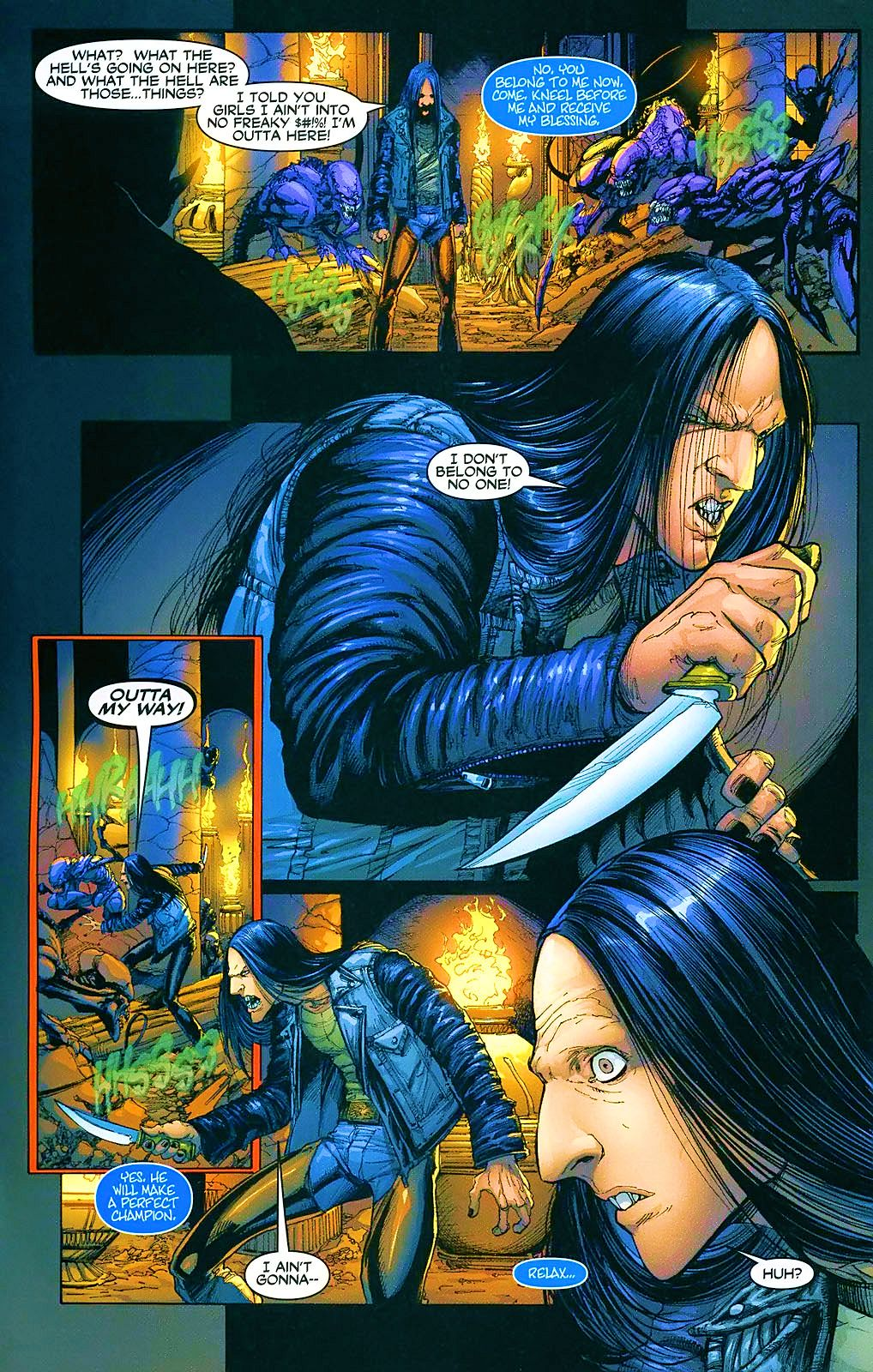 Read online Wraithborn comic -  Issue #4 - 22