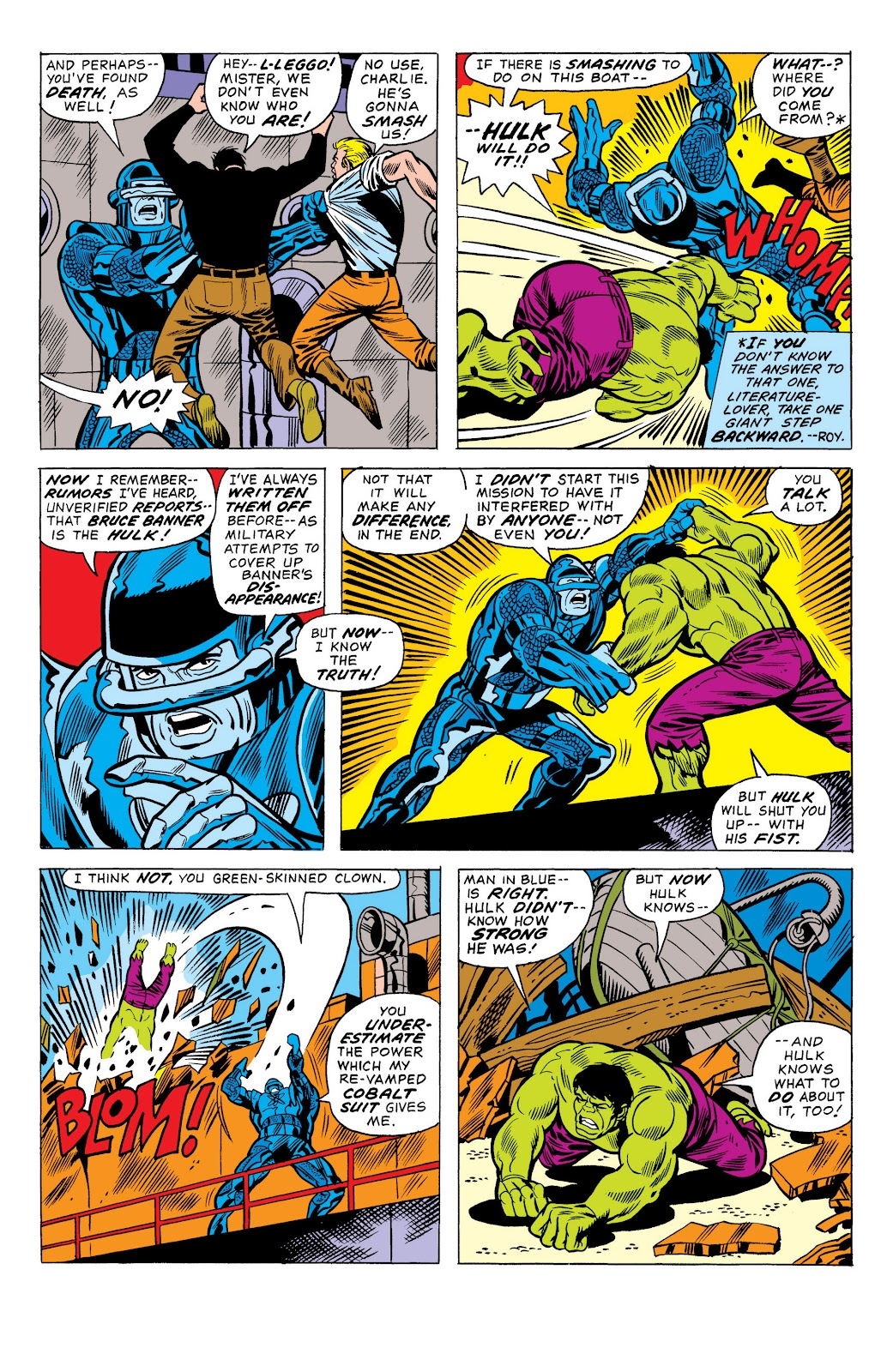 Read online Marvel Masterworks: The Incredible Hulk comic -  Issue # TPB 10 (Part 1) - 64