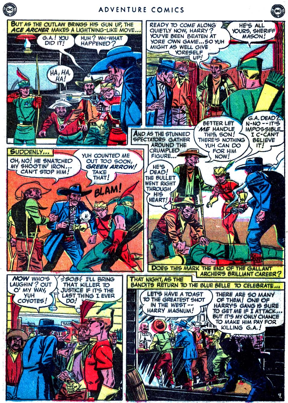 Read online Adventure Comics (1938) comic -  Issue #163 - 47