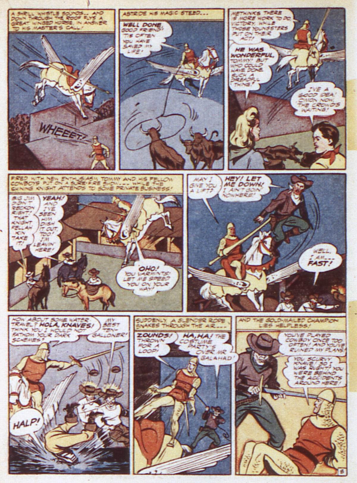 Read online Adventure Comics (1938) comic -  Issue #84 - 34