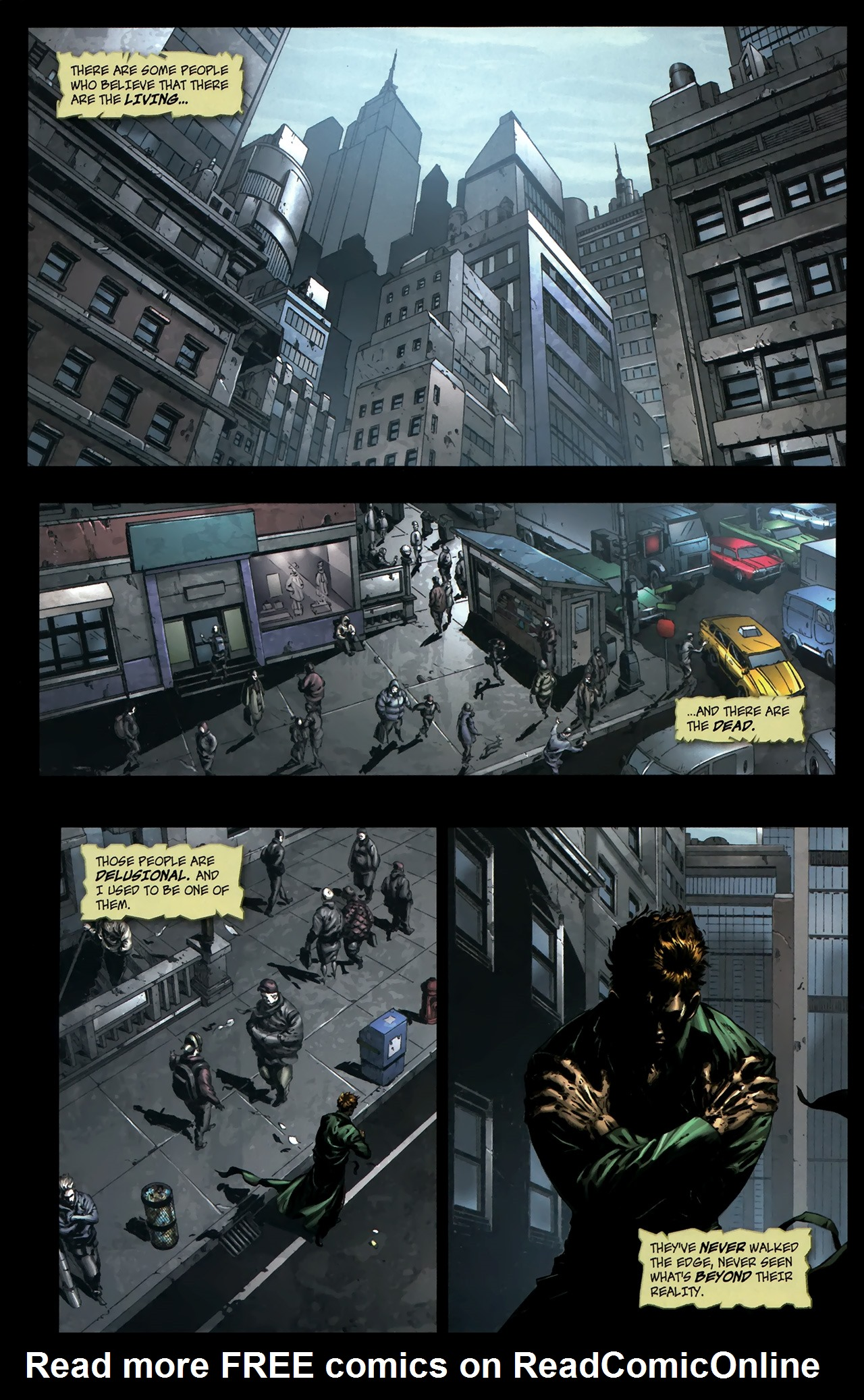 Read online The Grim Ghost comic -  Issue #0 - 4