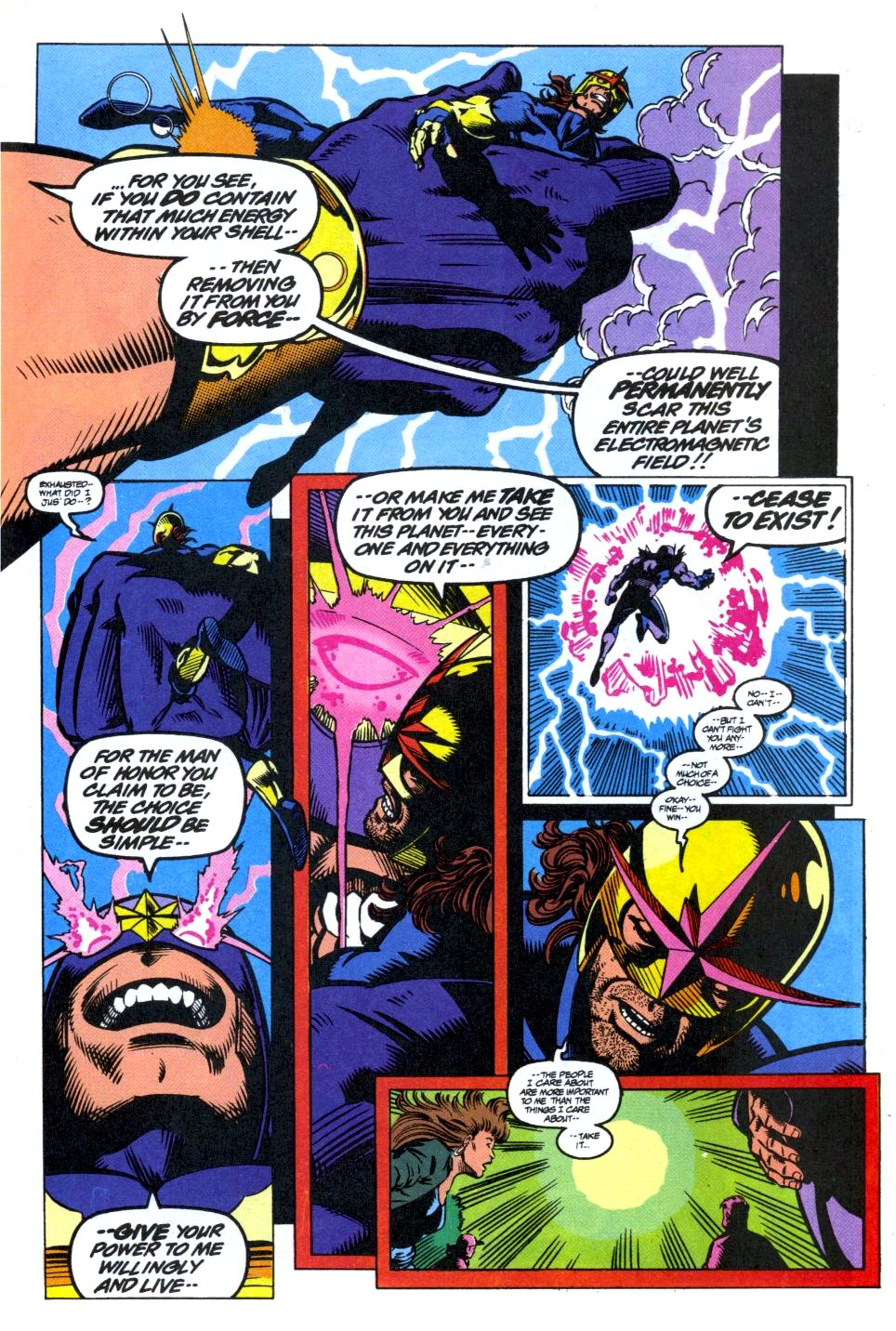 The New Warriors Issue #40 #44 - English 21