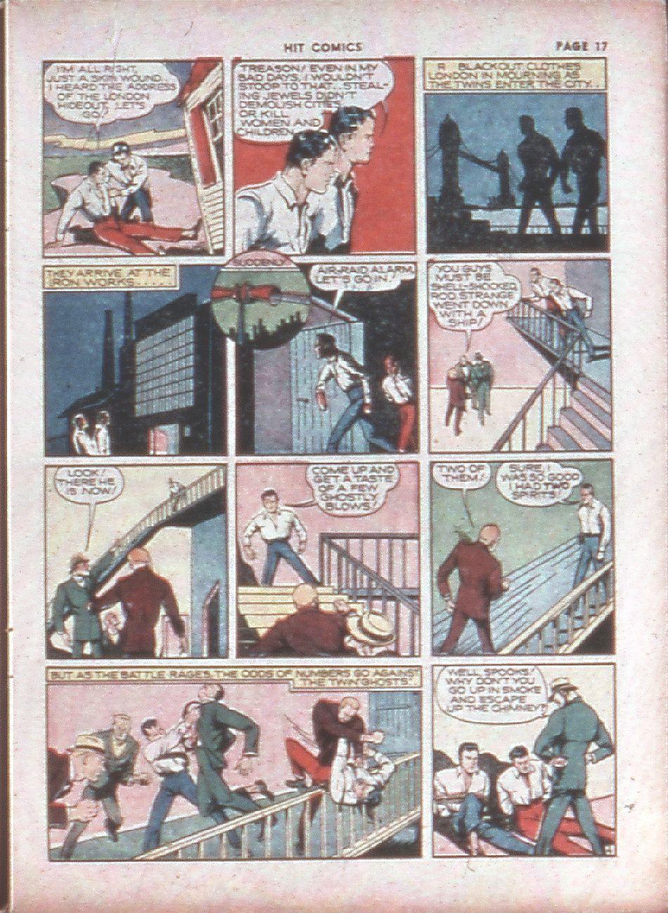 Read online Hit Comics comic -  Issue #8 - 19
