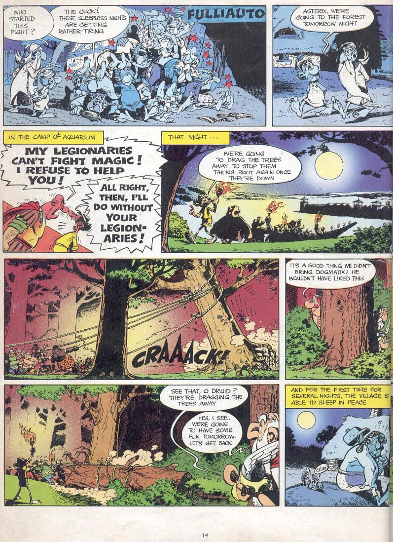 Read online Asterix comic -  Issue #17 - 12