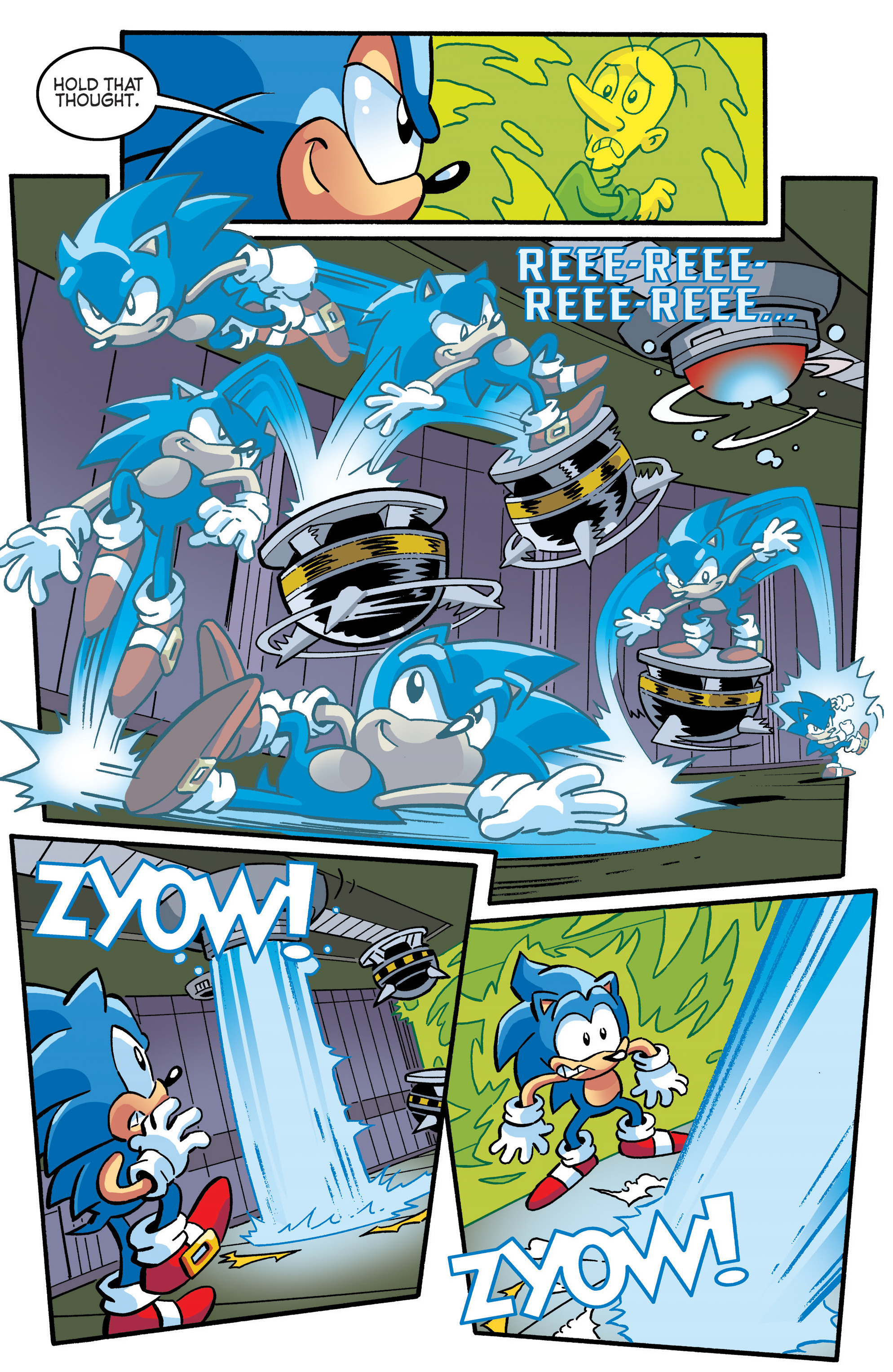 Read online Sonic The Hedgehog comic -  Issue #289 - 10