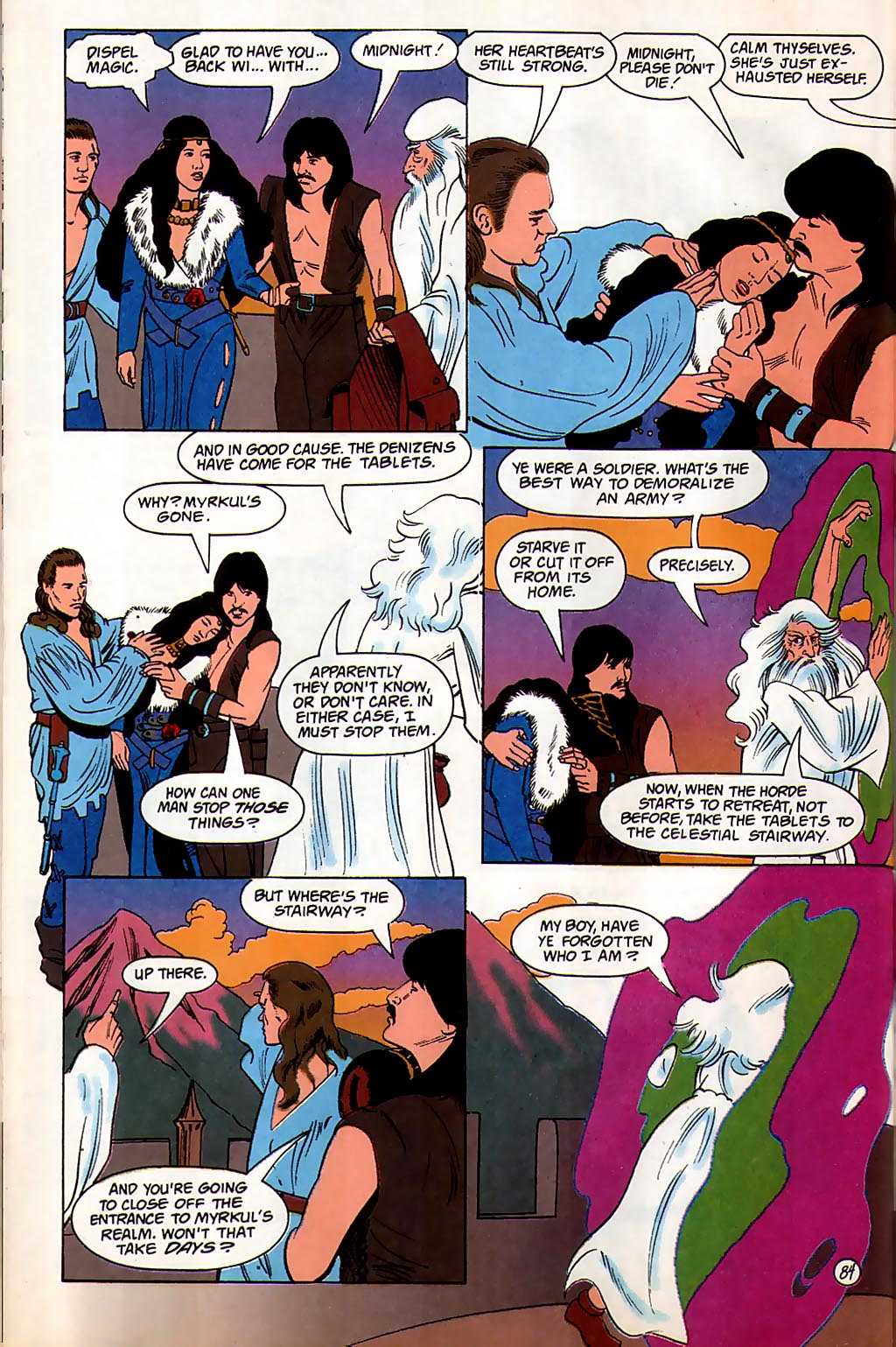 Read online Avatar comic -  Issue #3 - 85