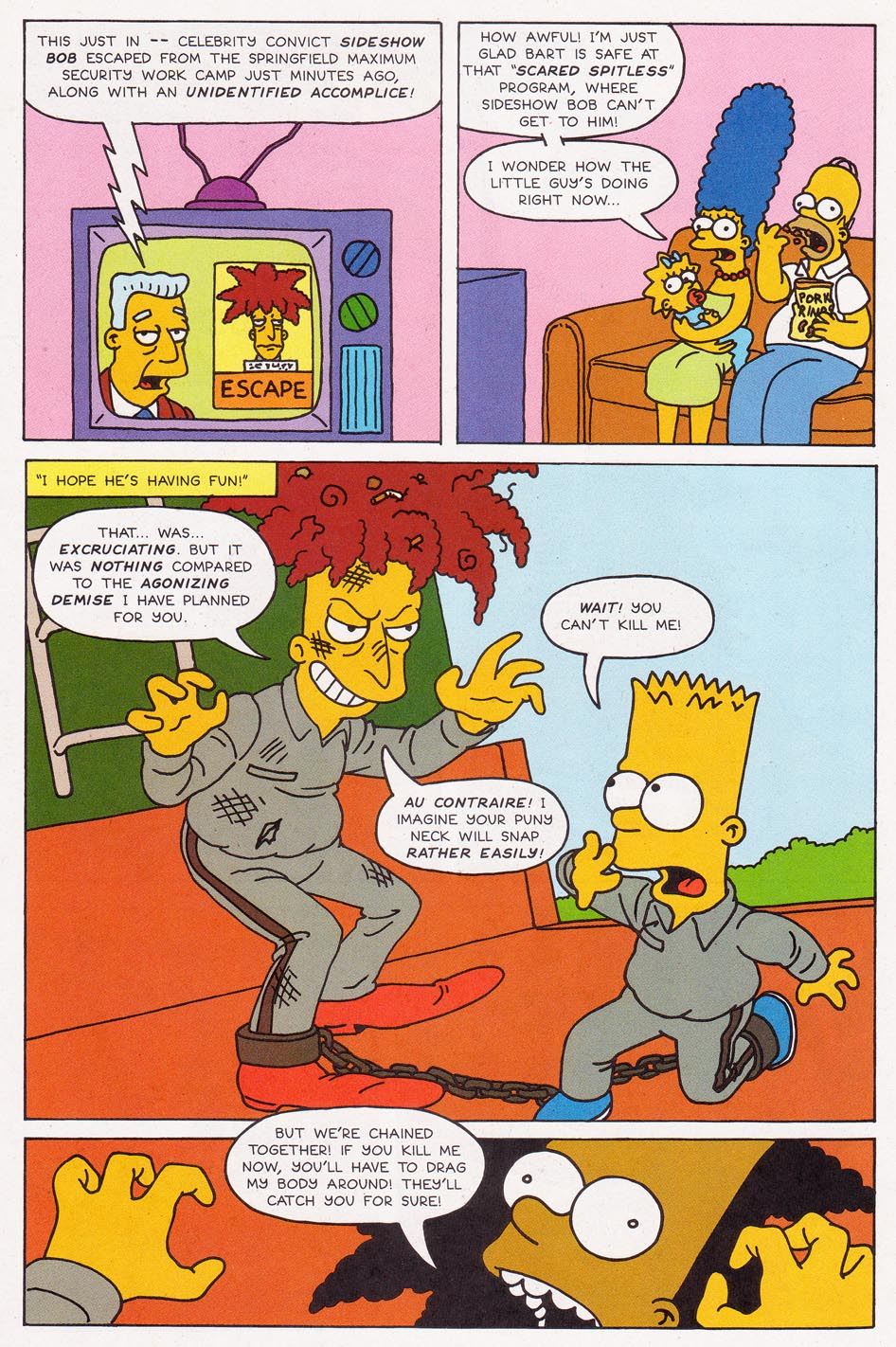 Read online Simpsons Comics comic -  Issue #2 - 19