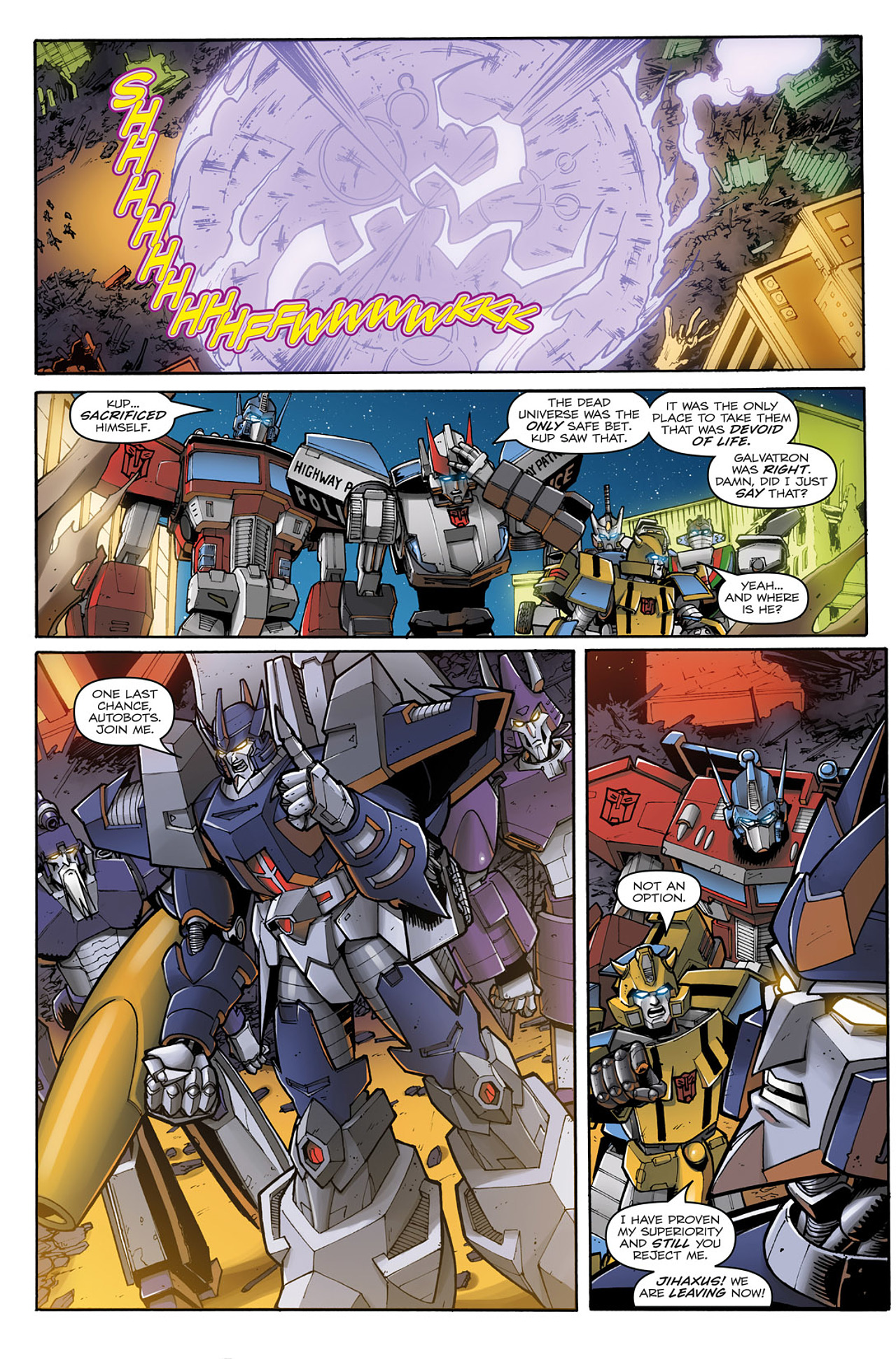 Read online Transformers: Infestation comic -  Issue #2 - 25