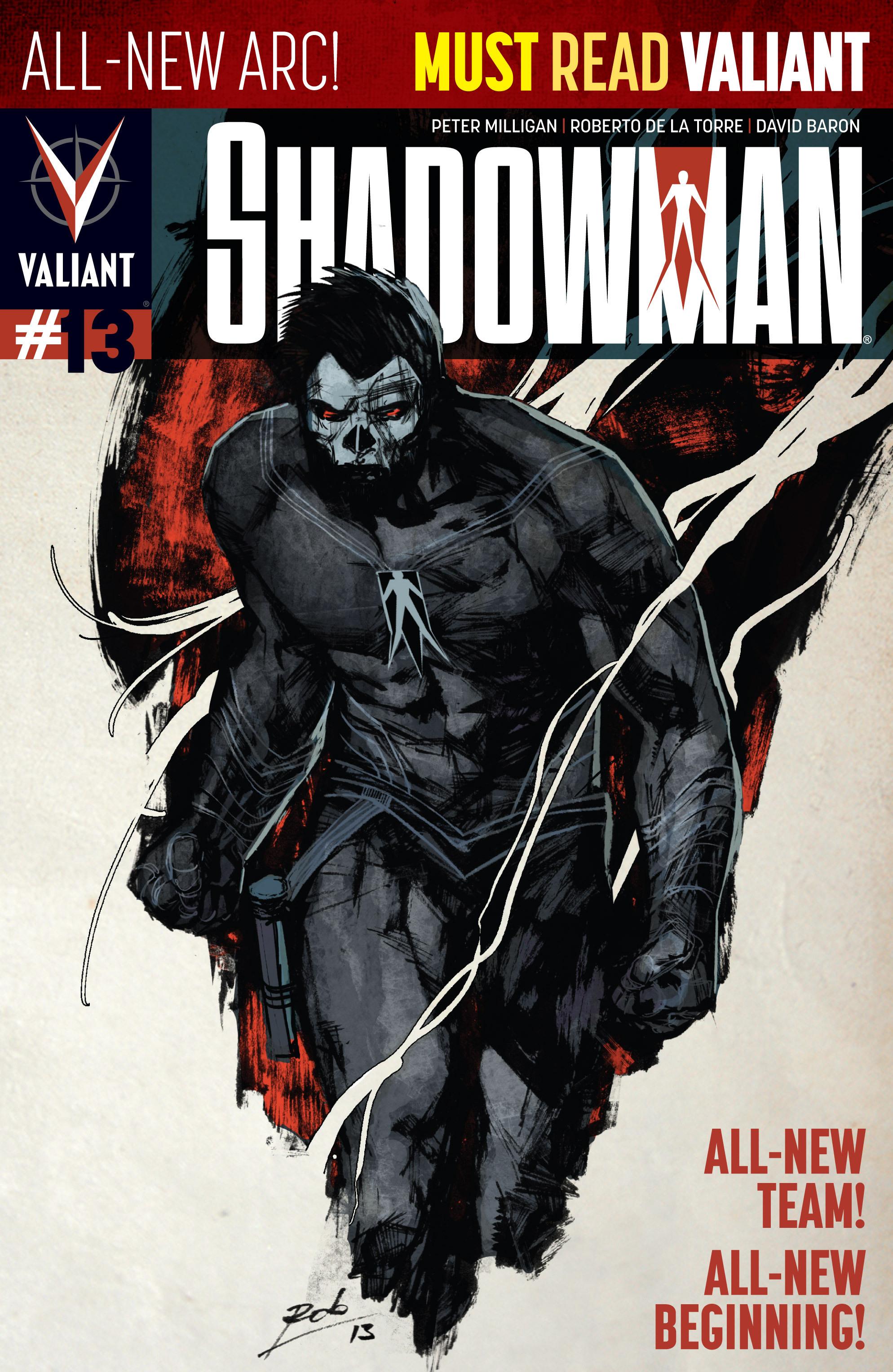 Read online Shadowman (2012) comic -  Issue #13 - 1
