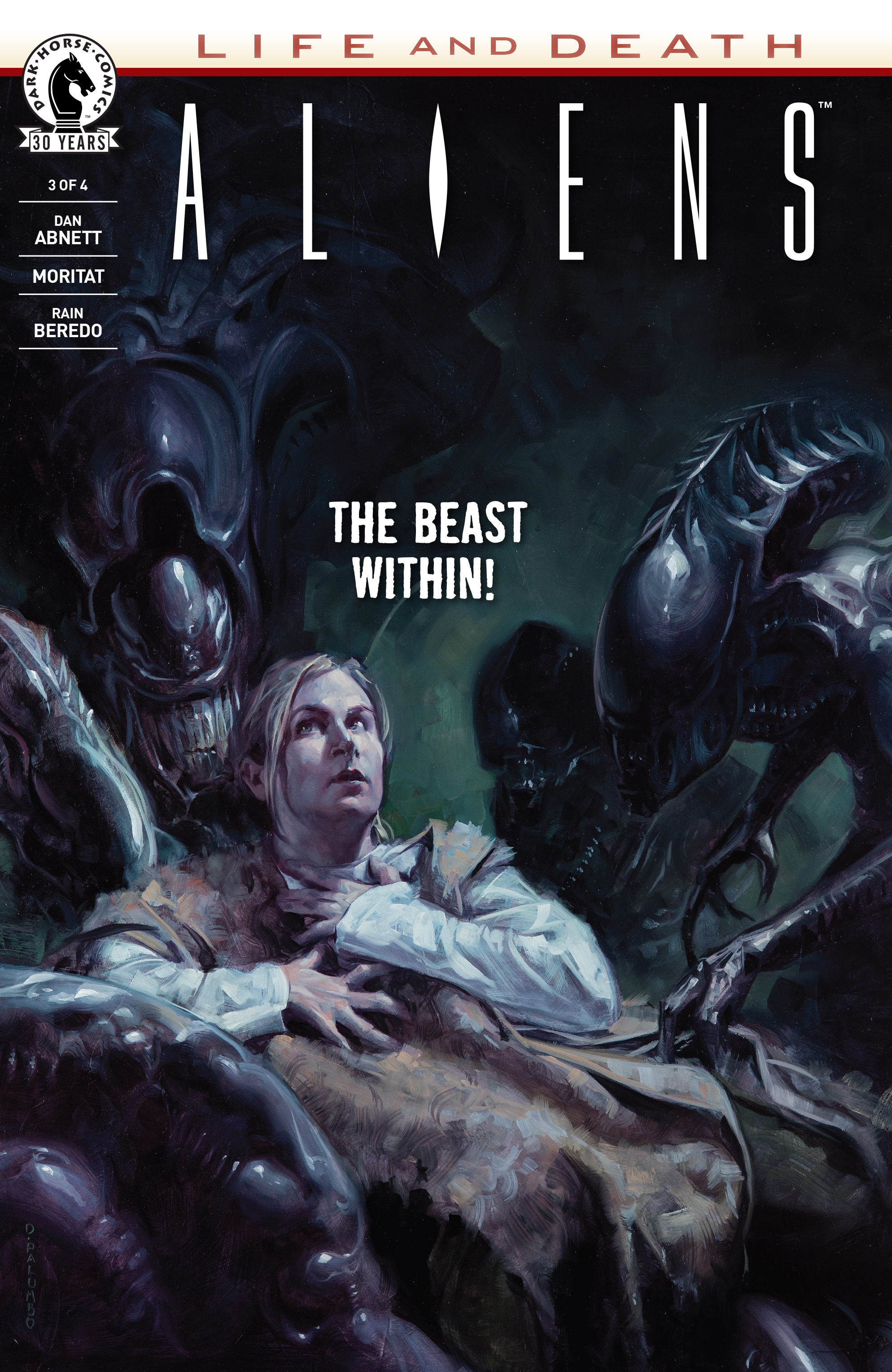 Read online Aliens: Life And Death comic -  Issue #3 - 1
