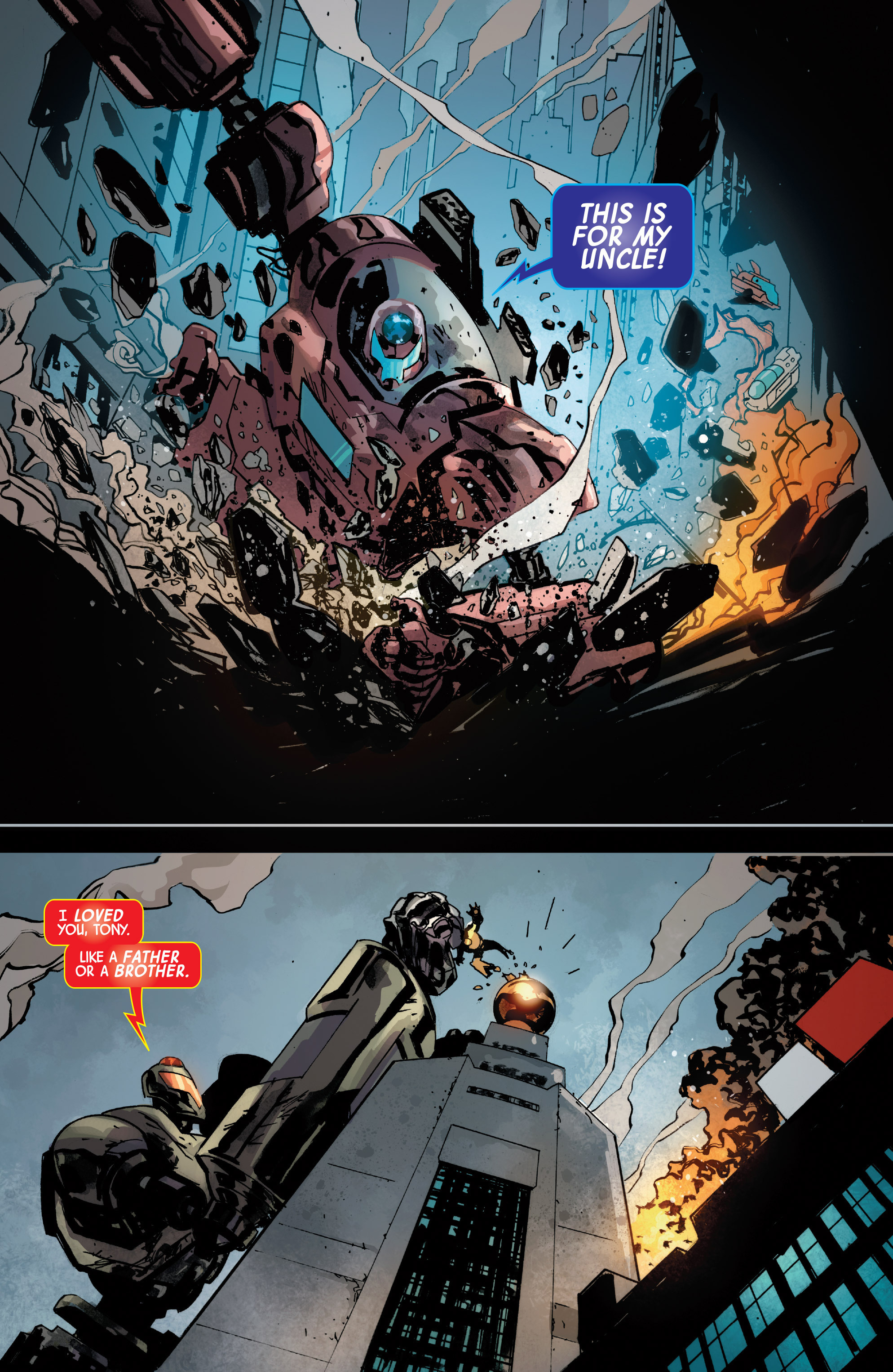 Read online Armor Wars comic -  Issue #5 - 17