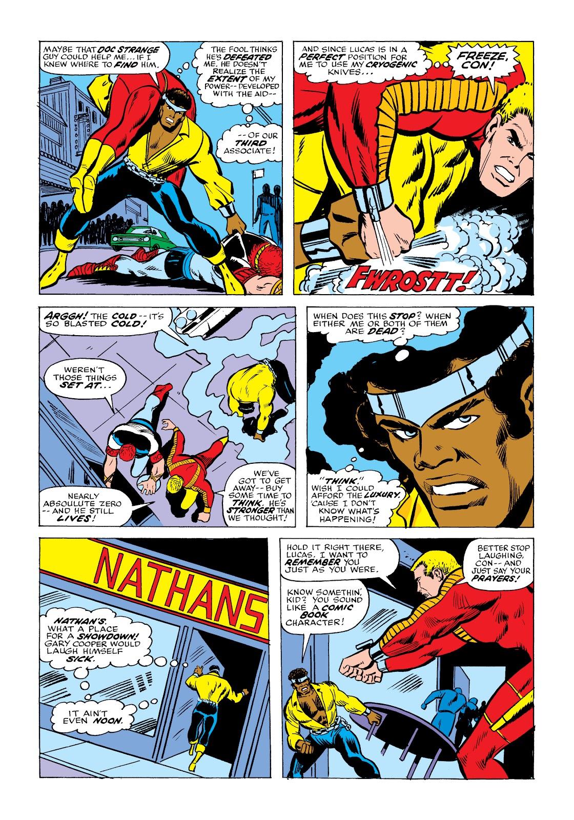 Read online Marvel Masterworks: Luke Cage, Power Man comic -  Issue # TPB 2 (Part 2) - 20