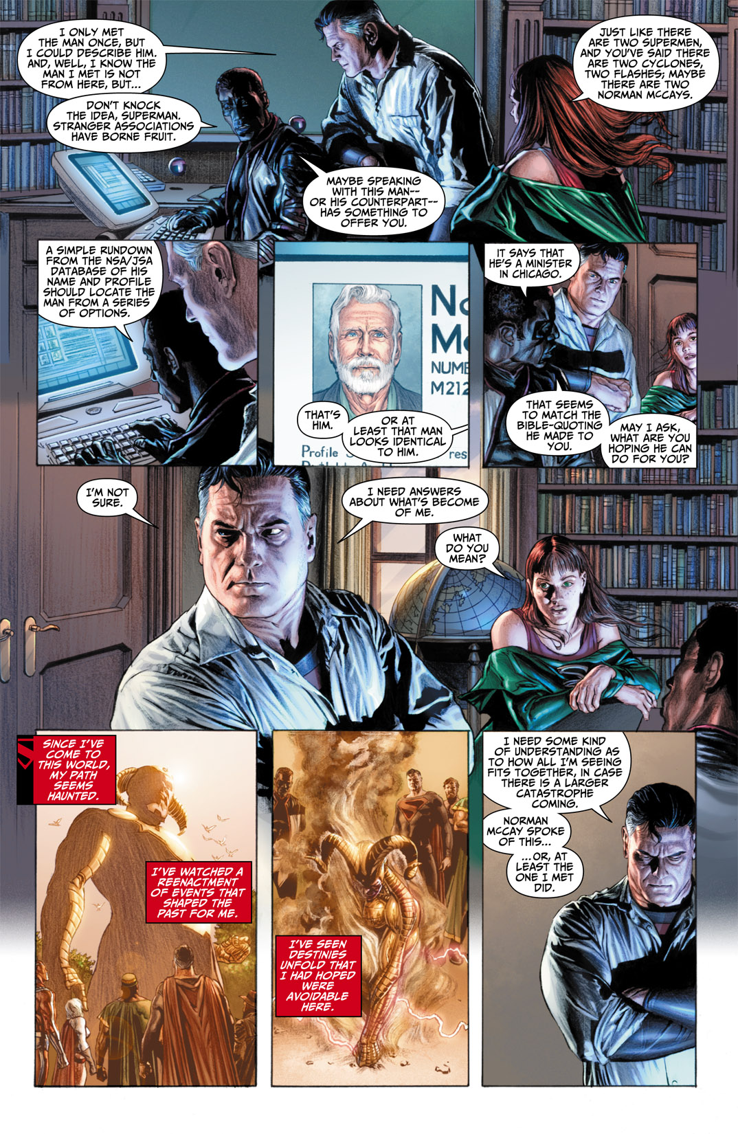 Read online JSA Kingdom Come Special: Superman comic -  Issue # Full - 7