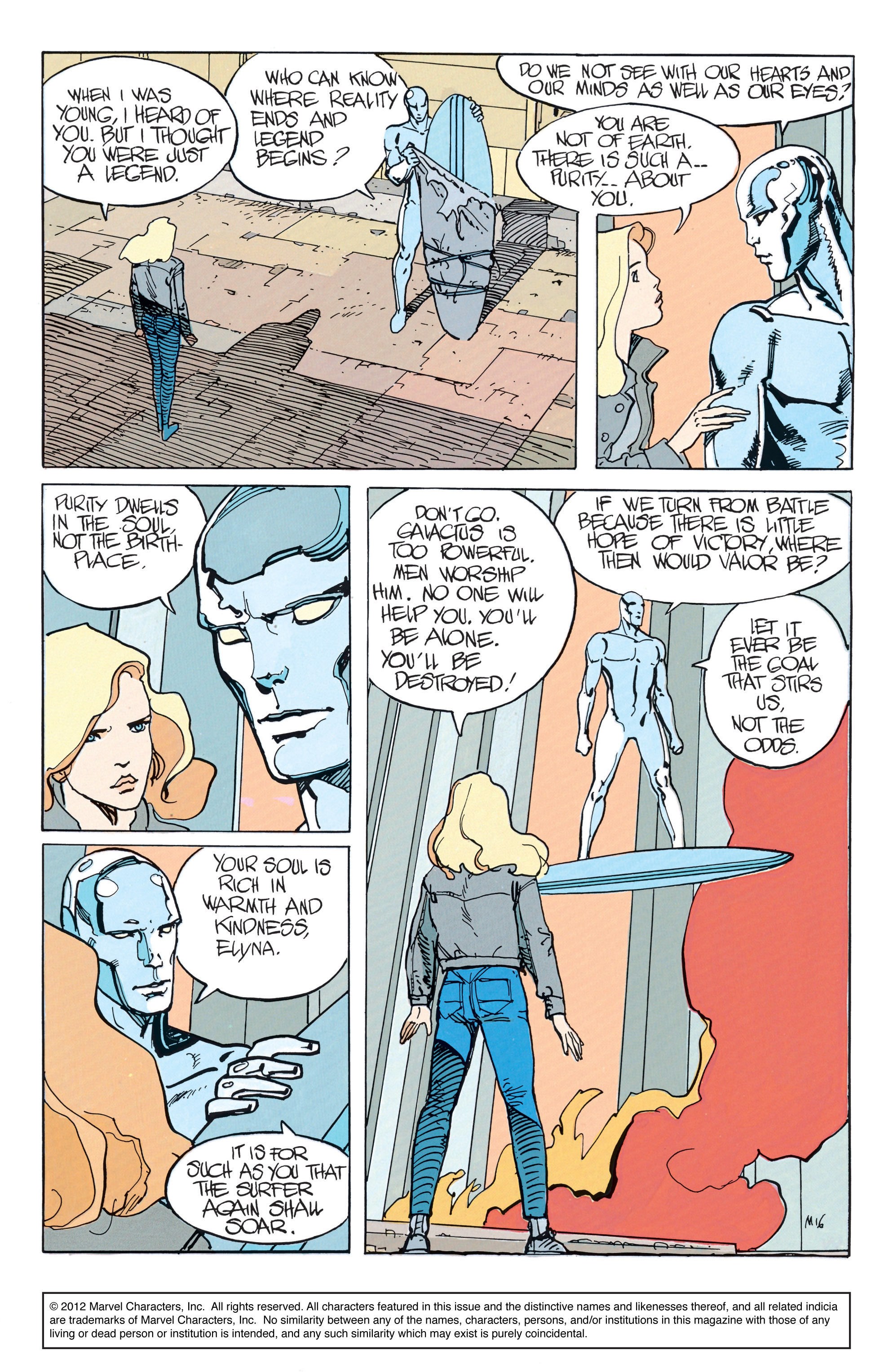 Read online Silver Surfer: Parable comic -  Issue # TPB - 22