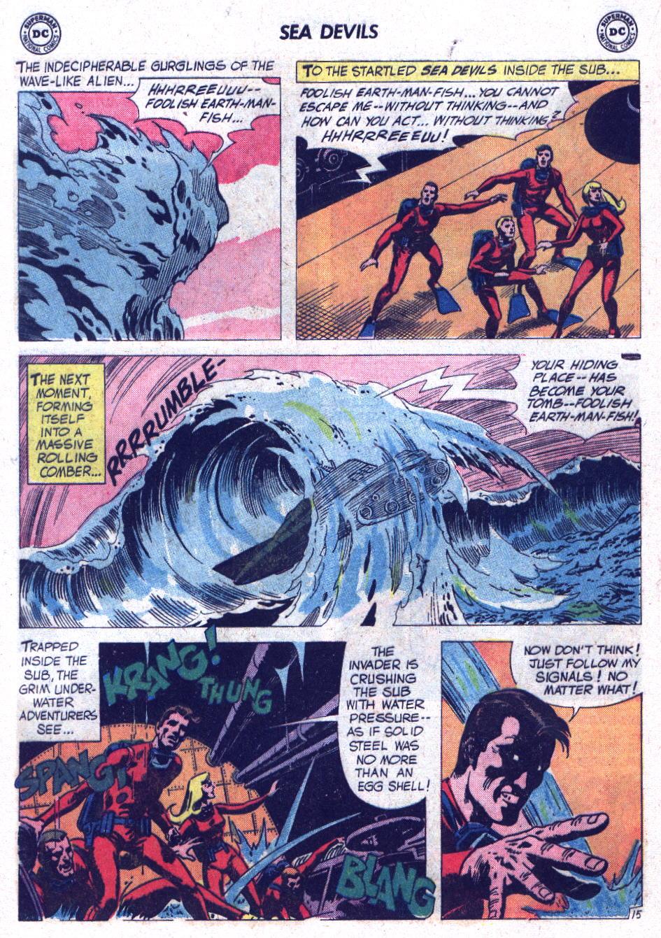 Read online Sea Devils comic -  Issue #7 - 21