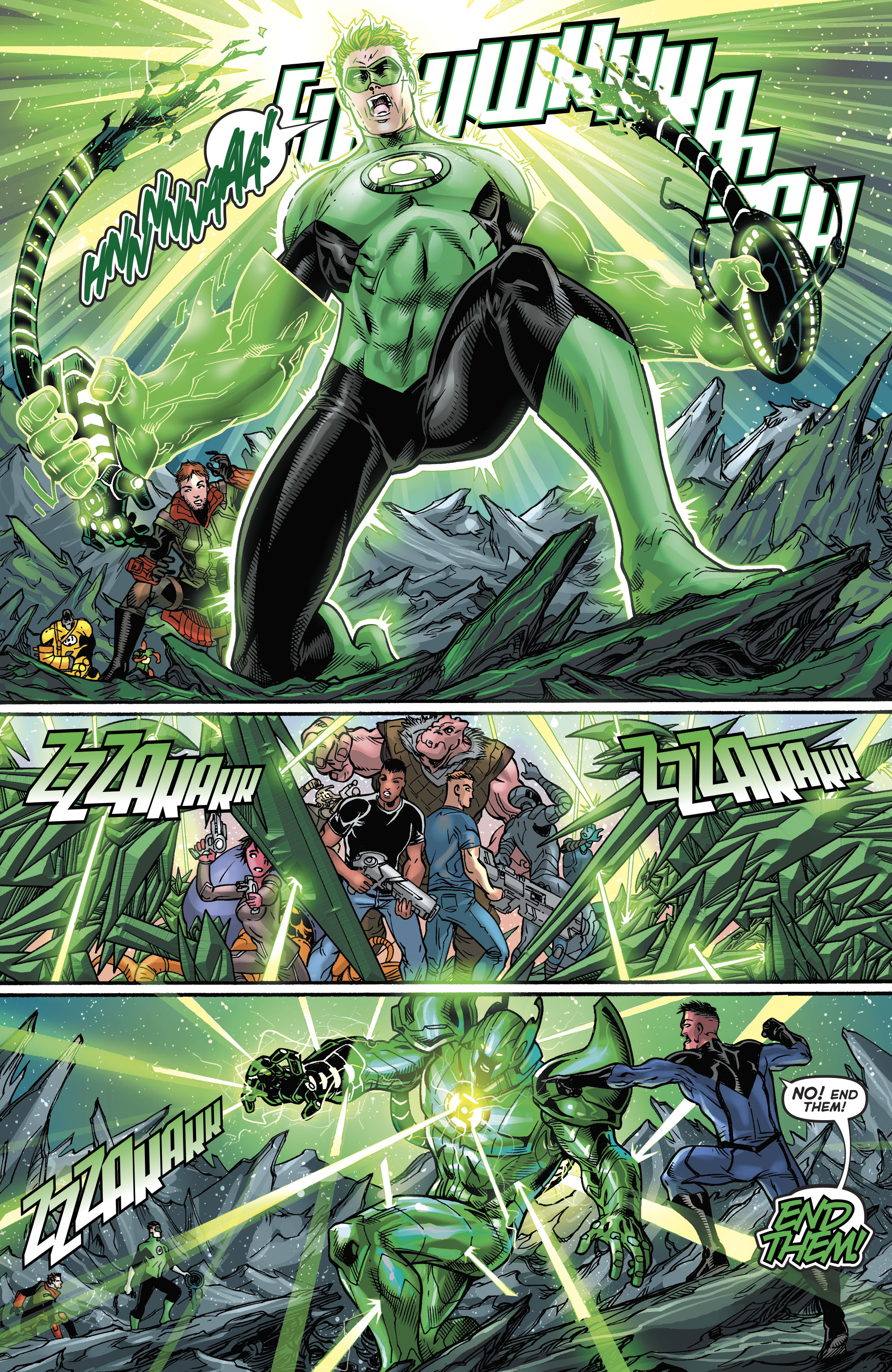 Read online Hal Jordan And The Green Lantern Corps comic -  Issue #21 - 18
