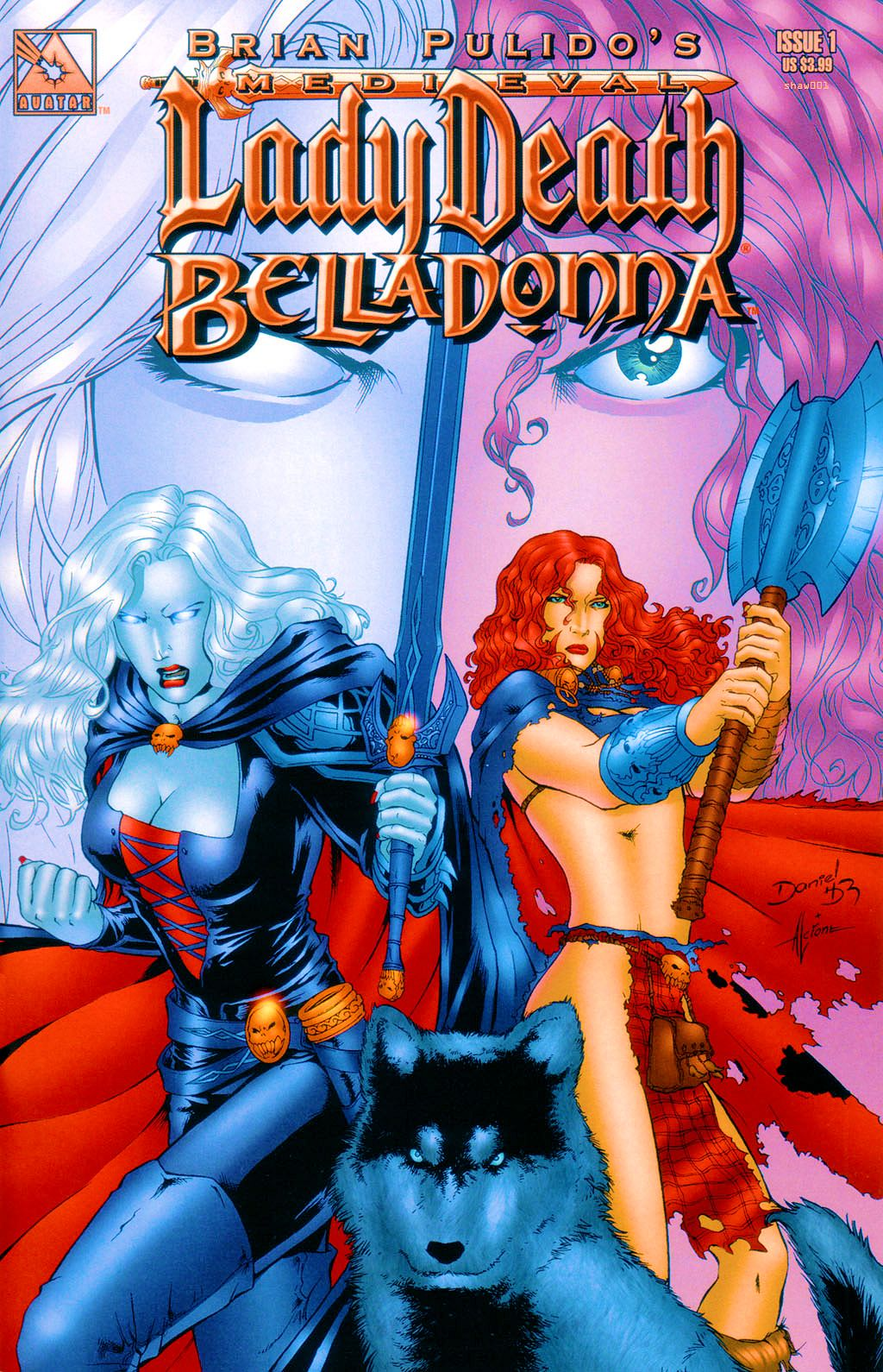 Read online Brian Pulido's Medieval Lady Death Belladonna comic -  Issue #1 - 1