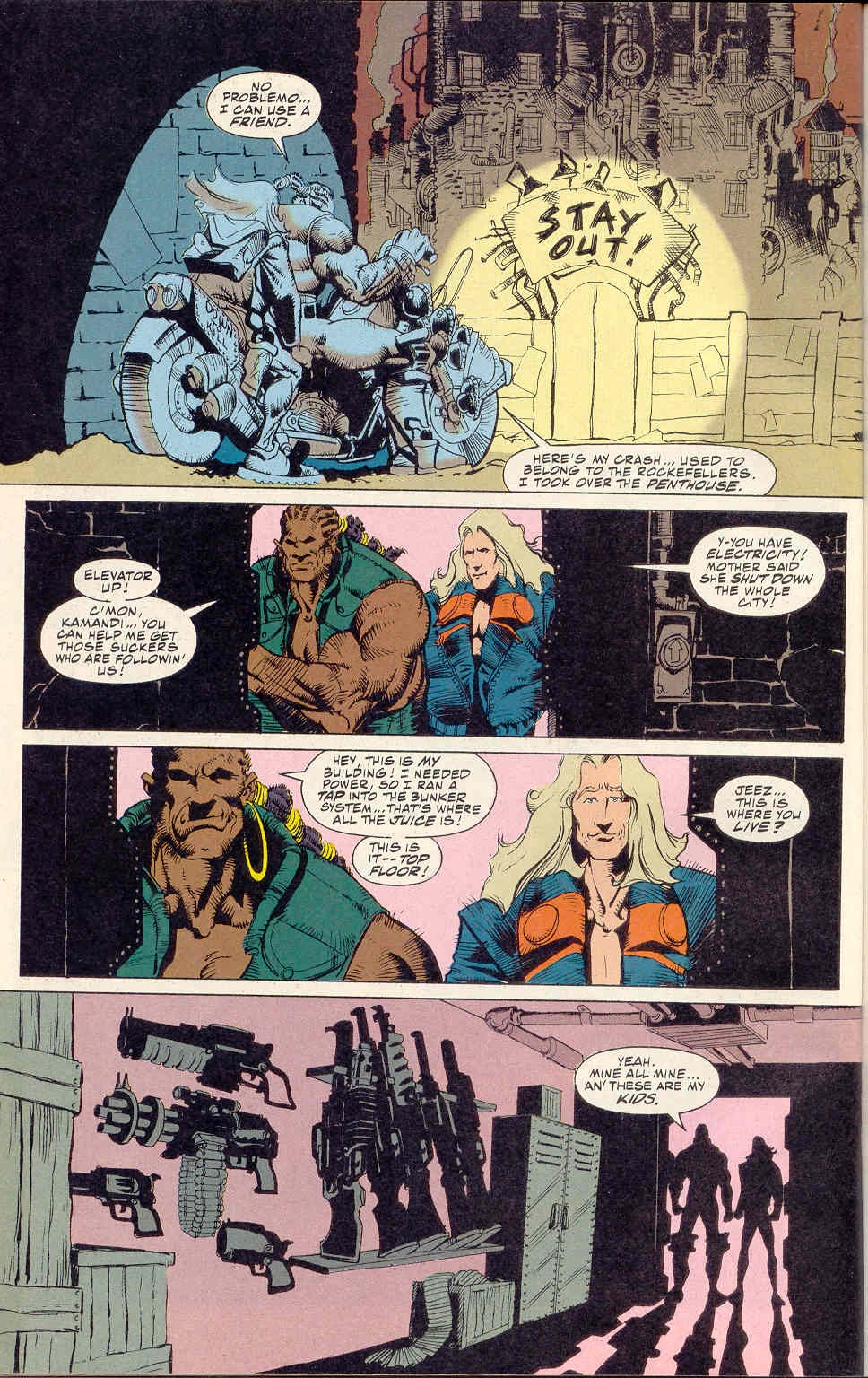 Read online Kamandi: At Earth's End comic -  Issue #1 - 22