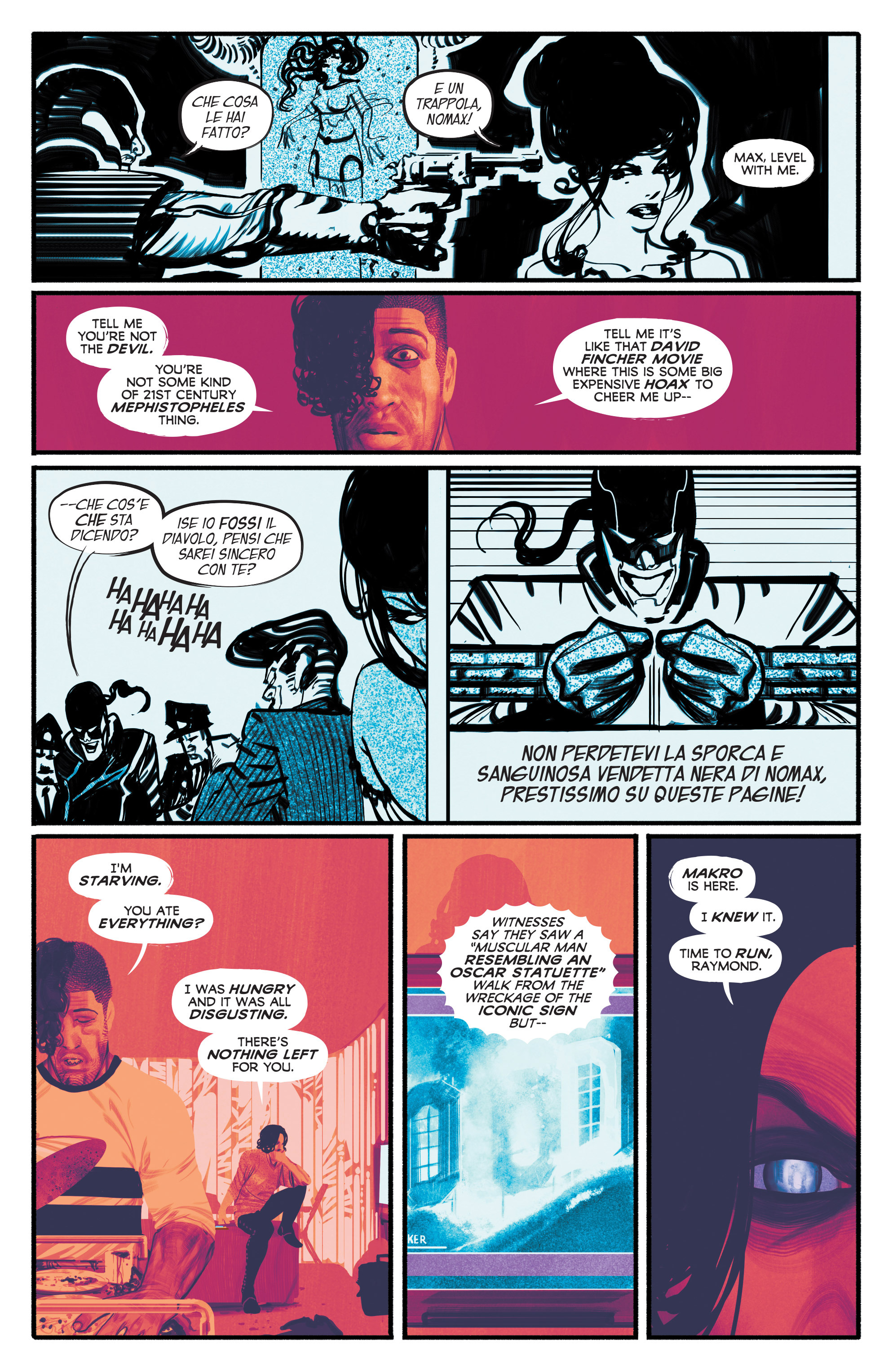 Read online Annihilator comic -  Issue #3 - 21