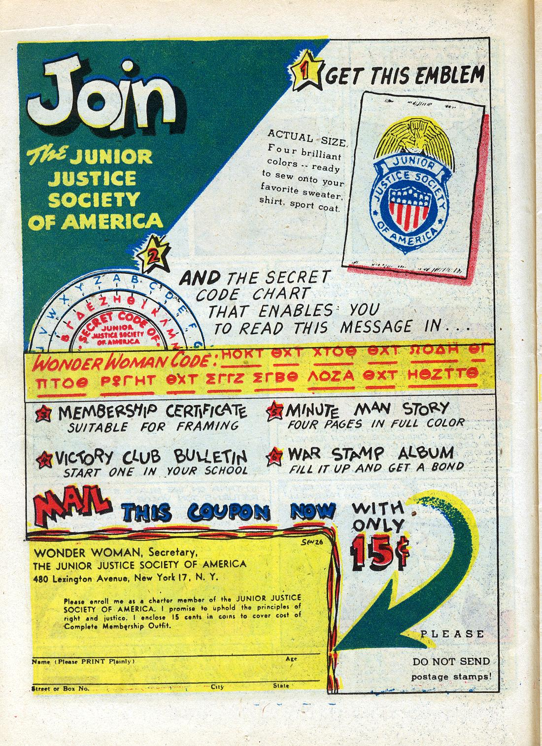 Read online Sensation (Mystery) Comics comic -  Issue #26 - 24