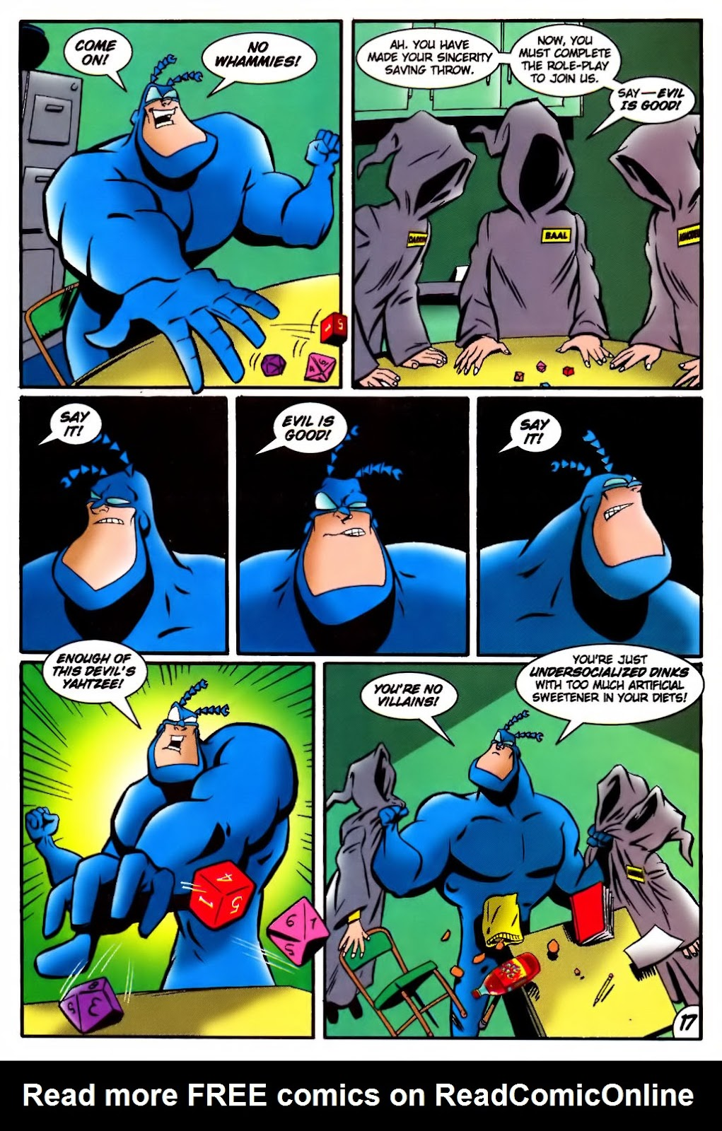 Read online The Tick: Days of Drama comic -  Issue #4 - 19