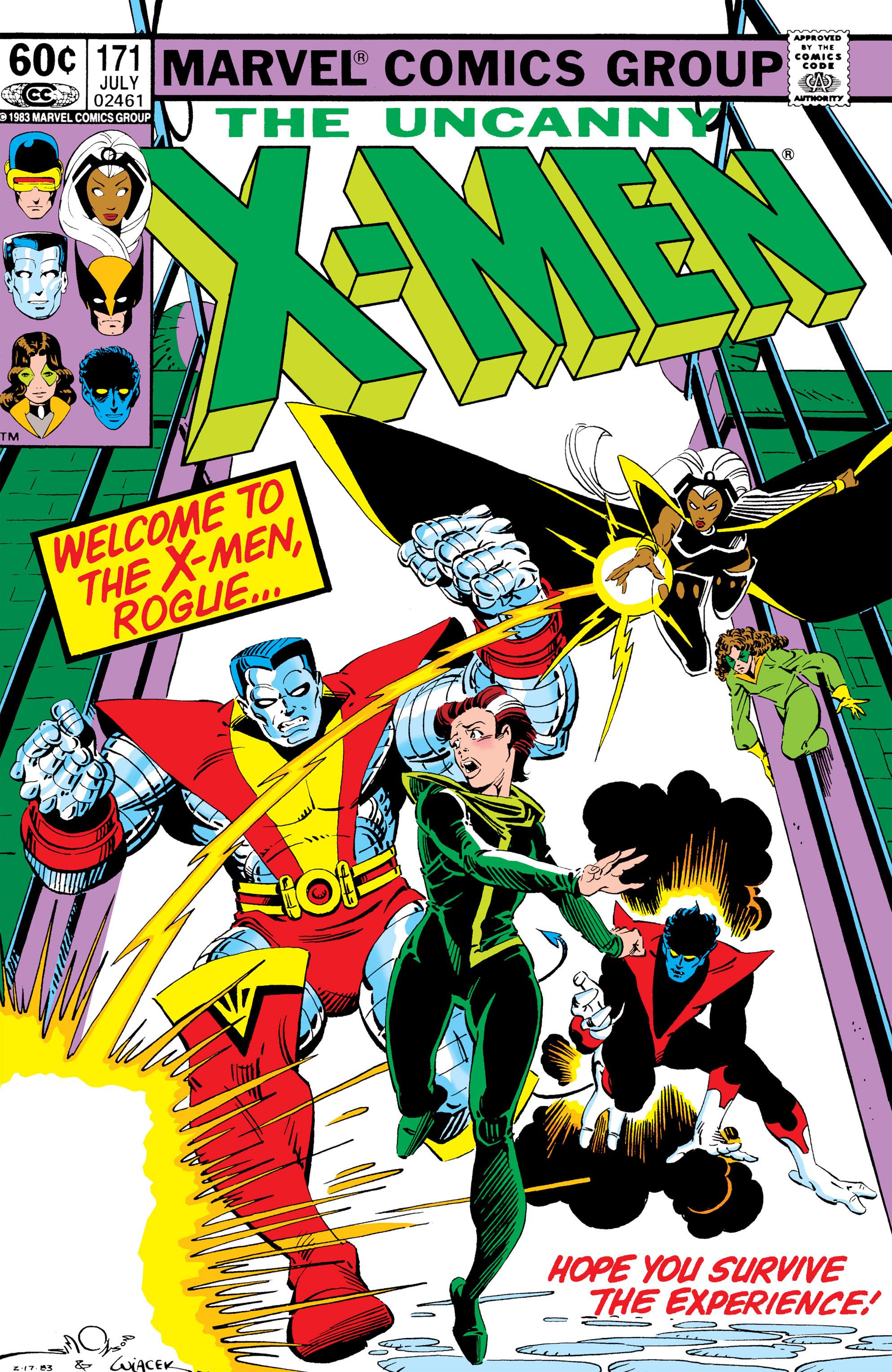 Uncanny X-Men (1963) 171 Page 1