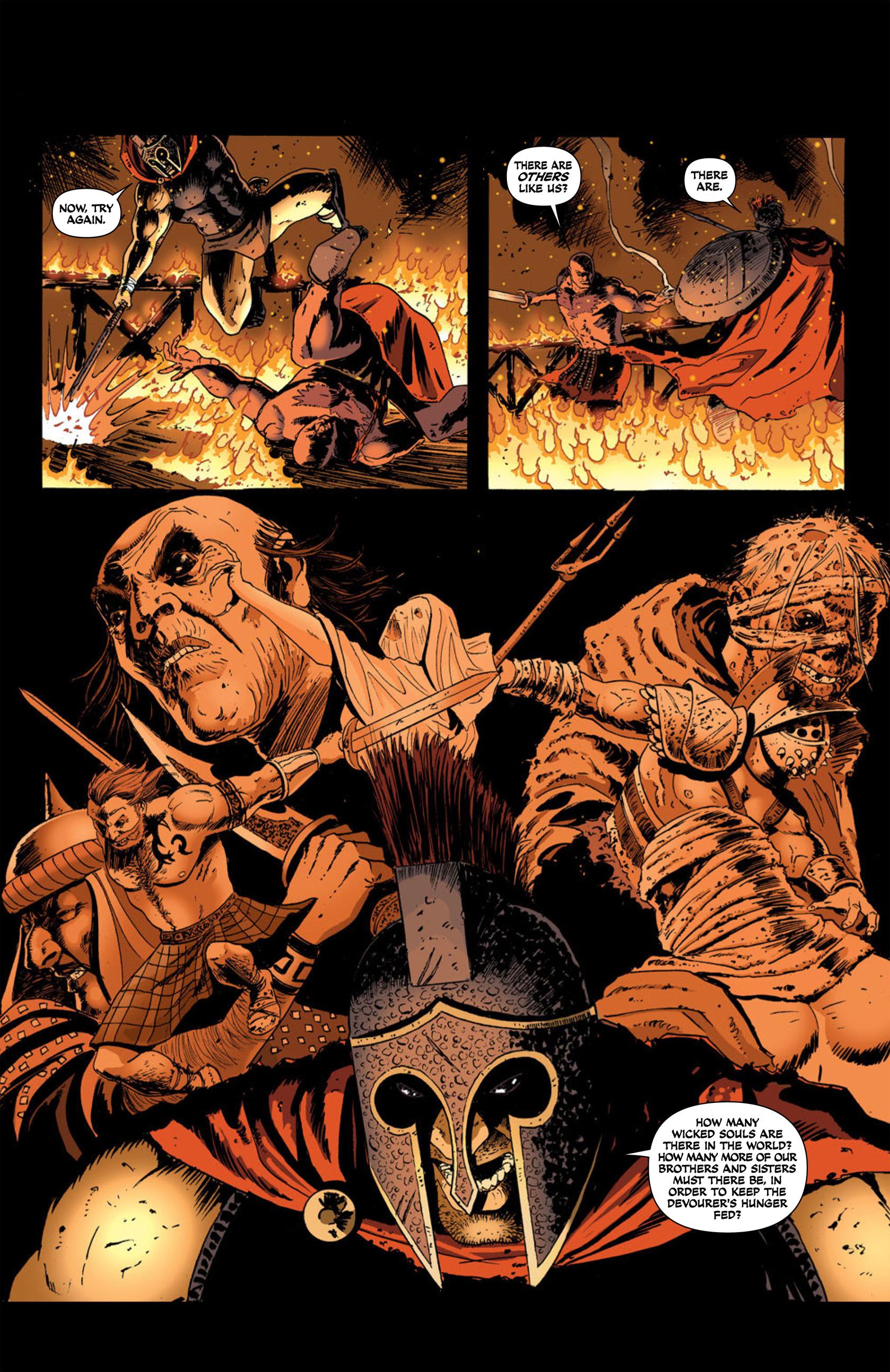 Read online Aquila comic -  Issue #2 - 14