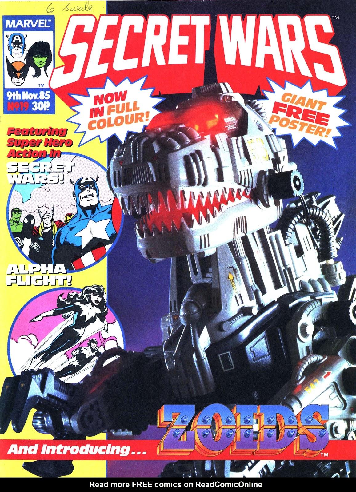 Secret Wars (1985) issue 19 - Page 1