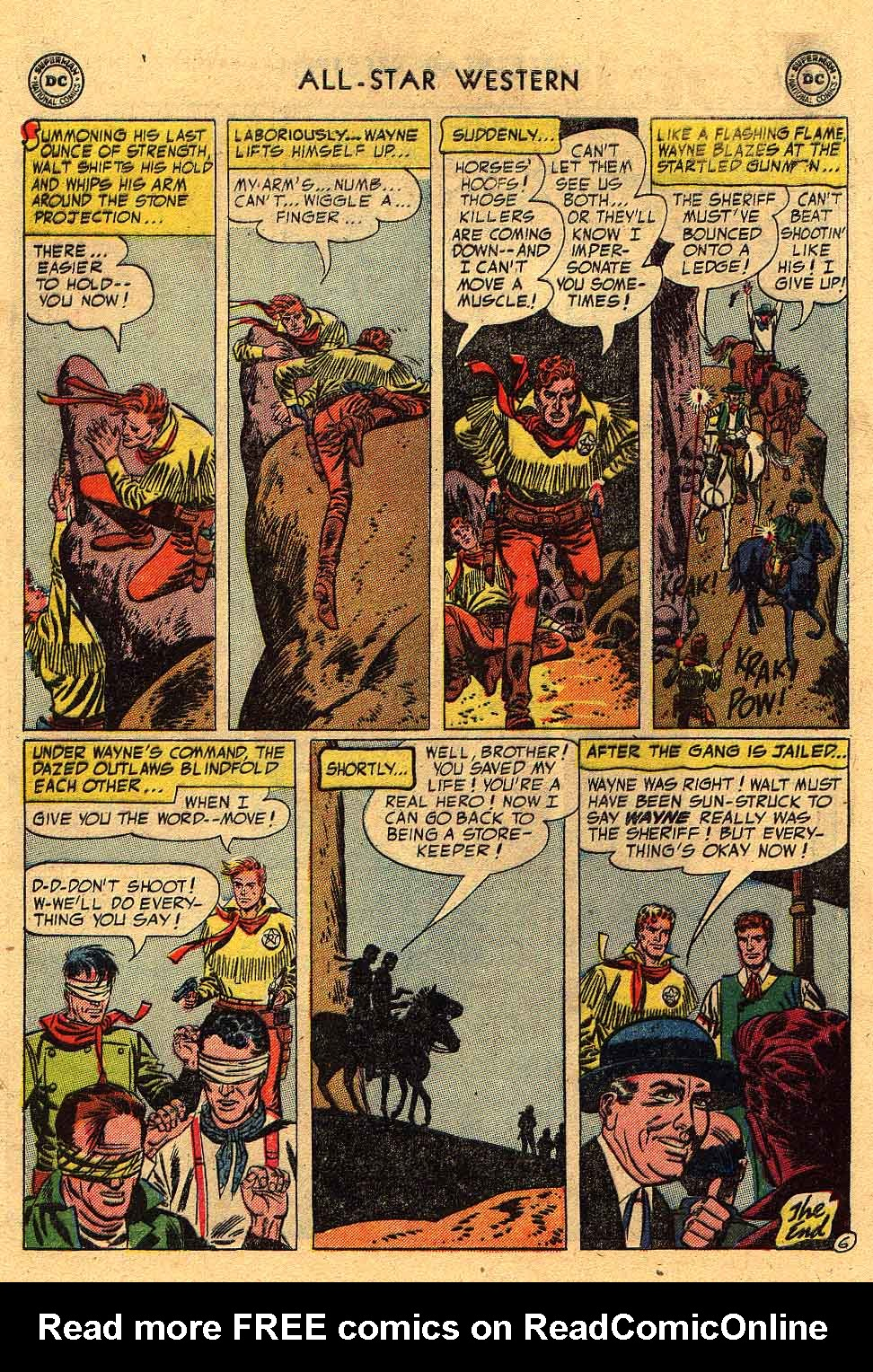 Read online All-Star Western (1951) comic -  Issue #80 - 8