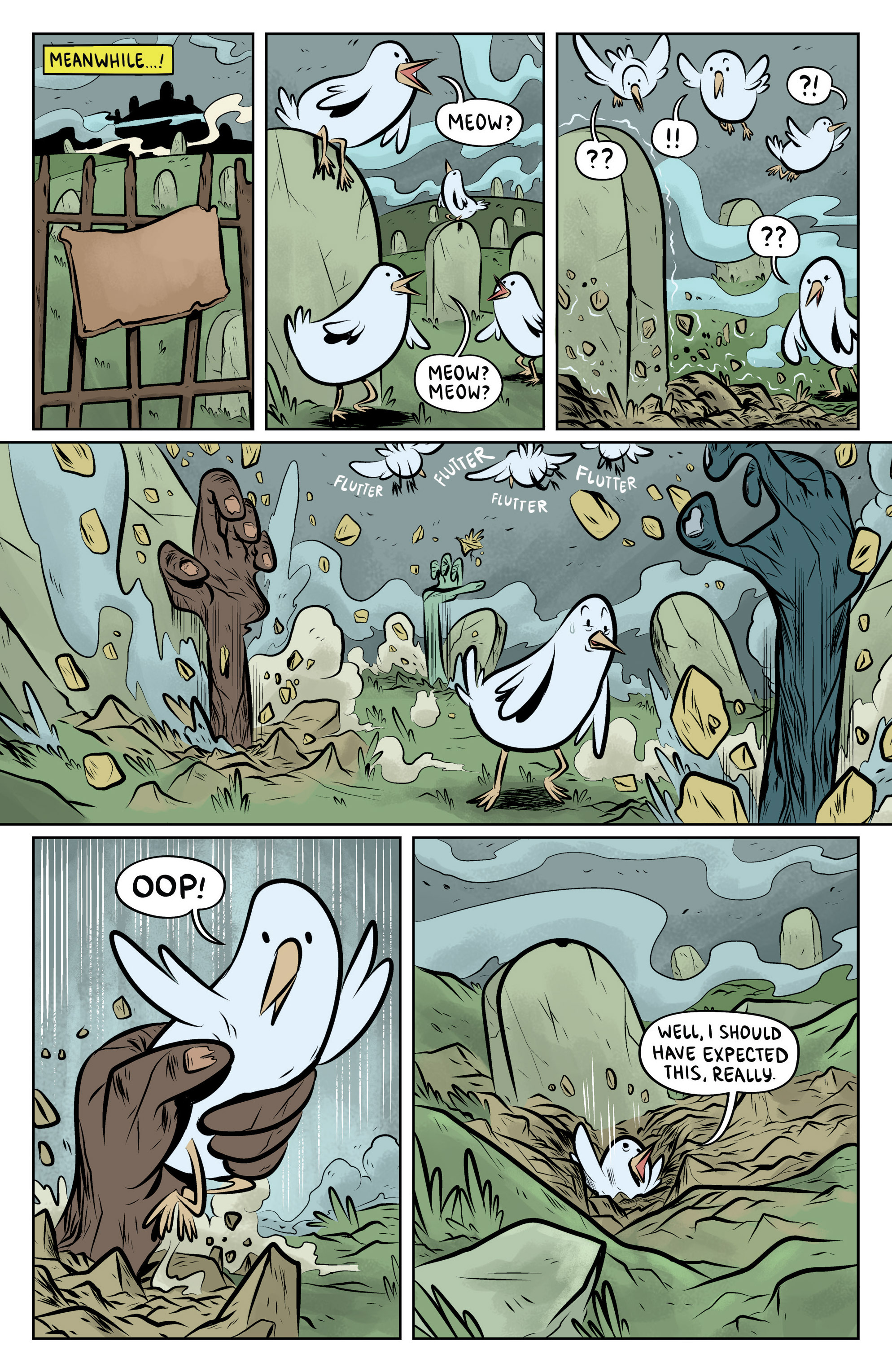 Read online Adventure Time: The Flip Side comic -  Issue #6 - 8