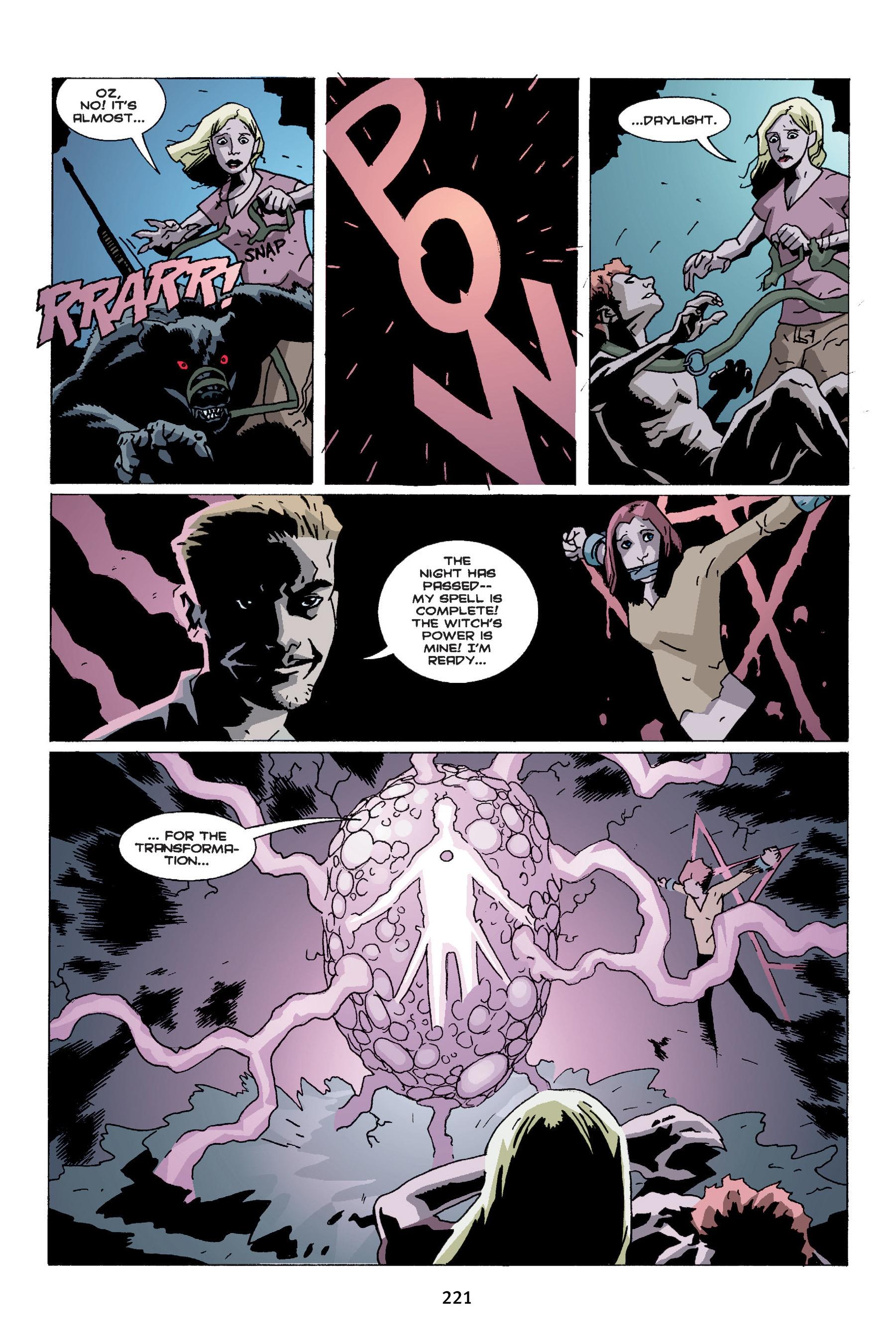 Read online Buffy the Vampire Slayer: Omnibus comic -  Issue # TPB 4 - 219