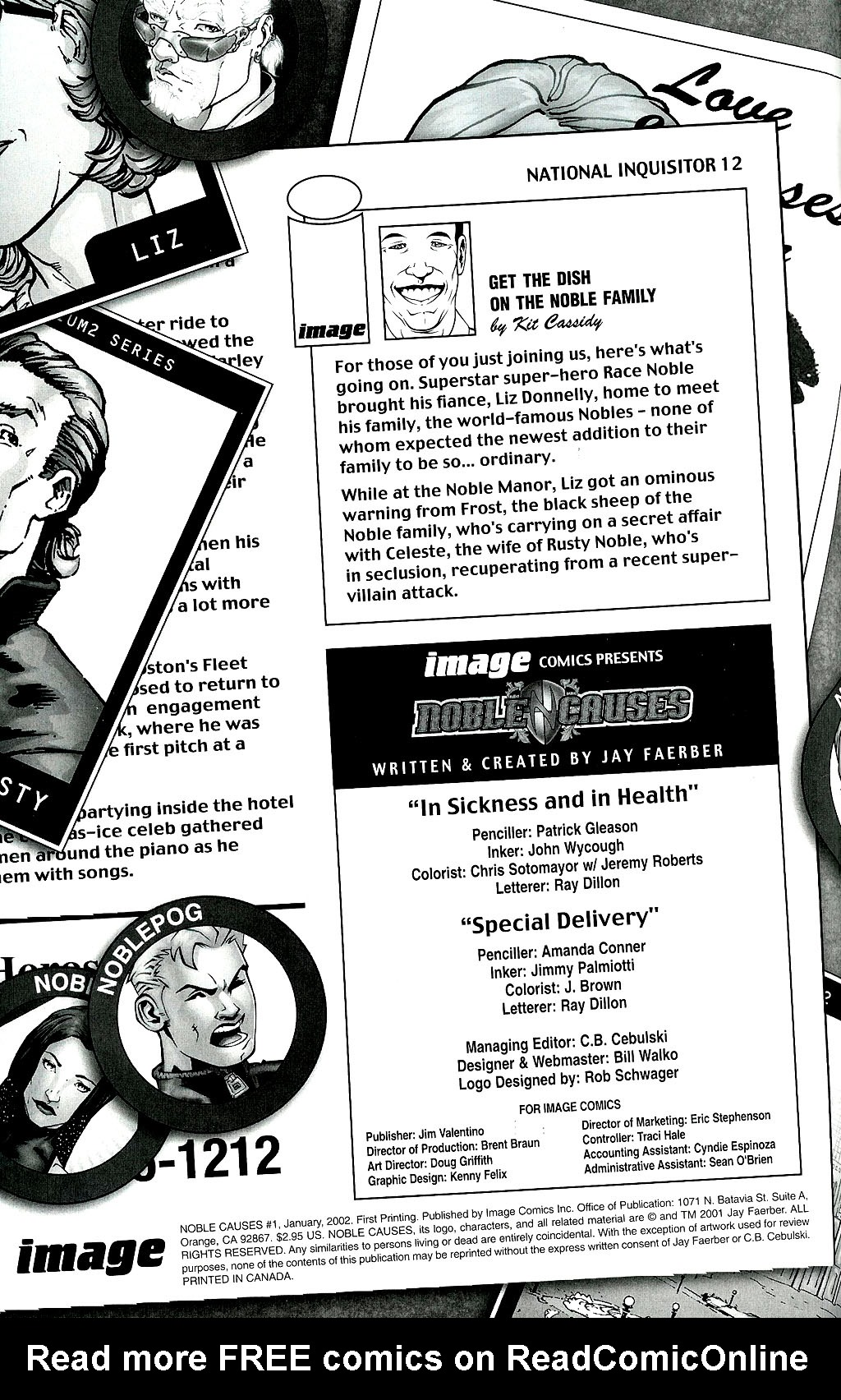 Read online Noble Causes (2002) comic -  Issue #1 - 2