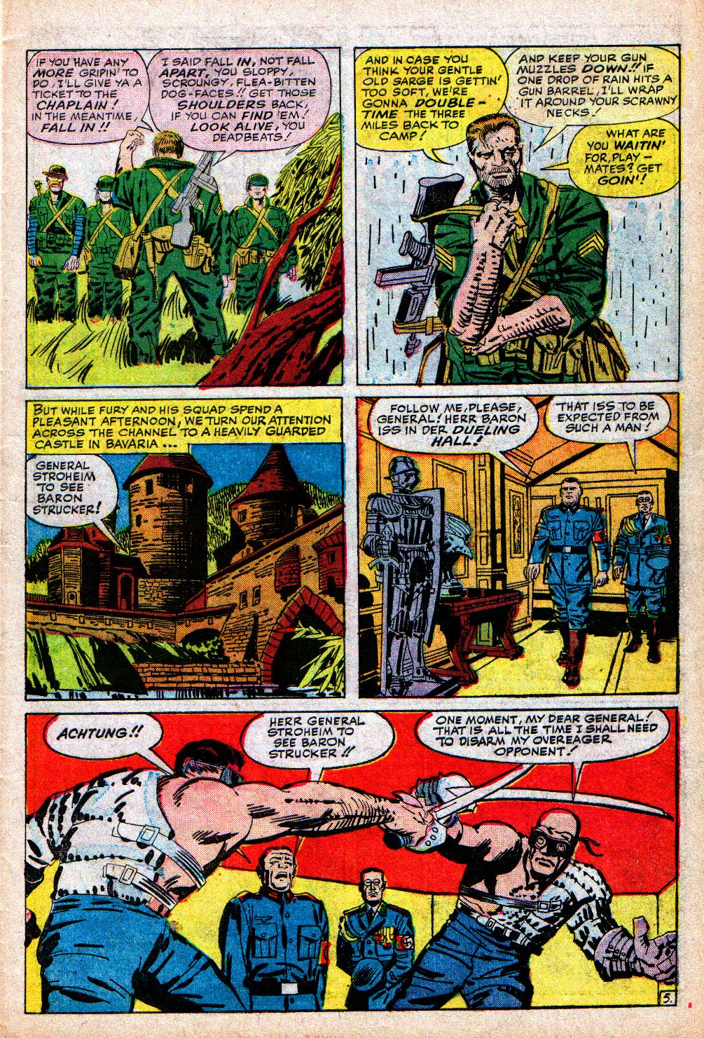 Read online Sgt. Fury comic -  Issue #5 - 7