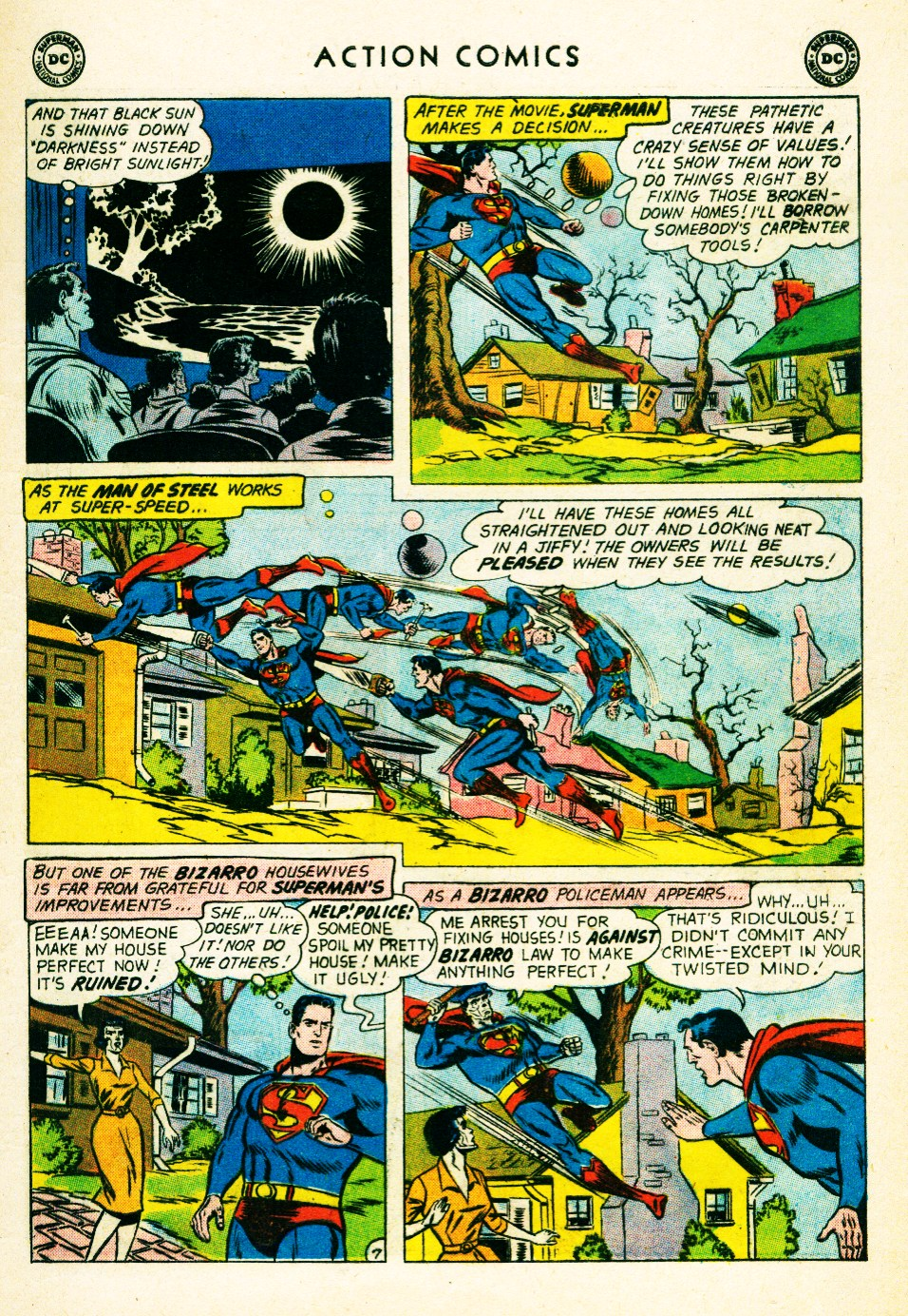Read online Action Comics (1938) comic -  Issue #263 - 9